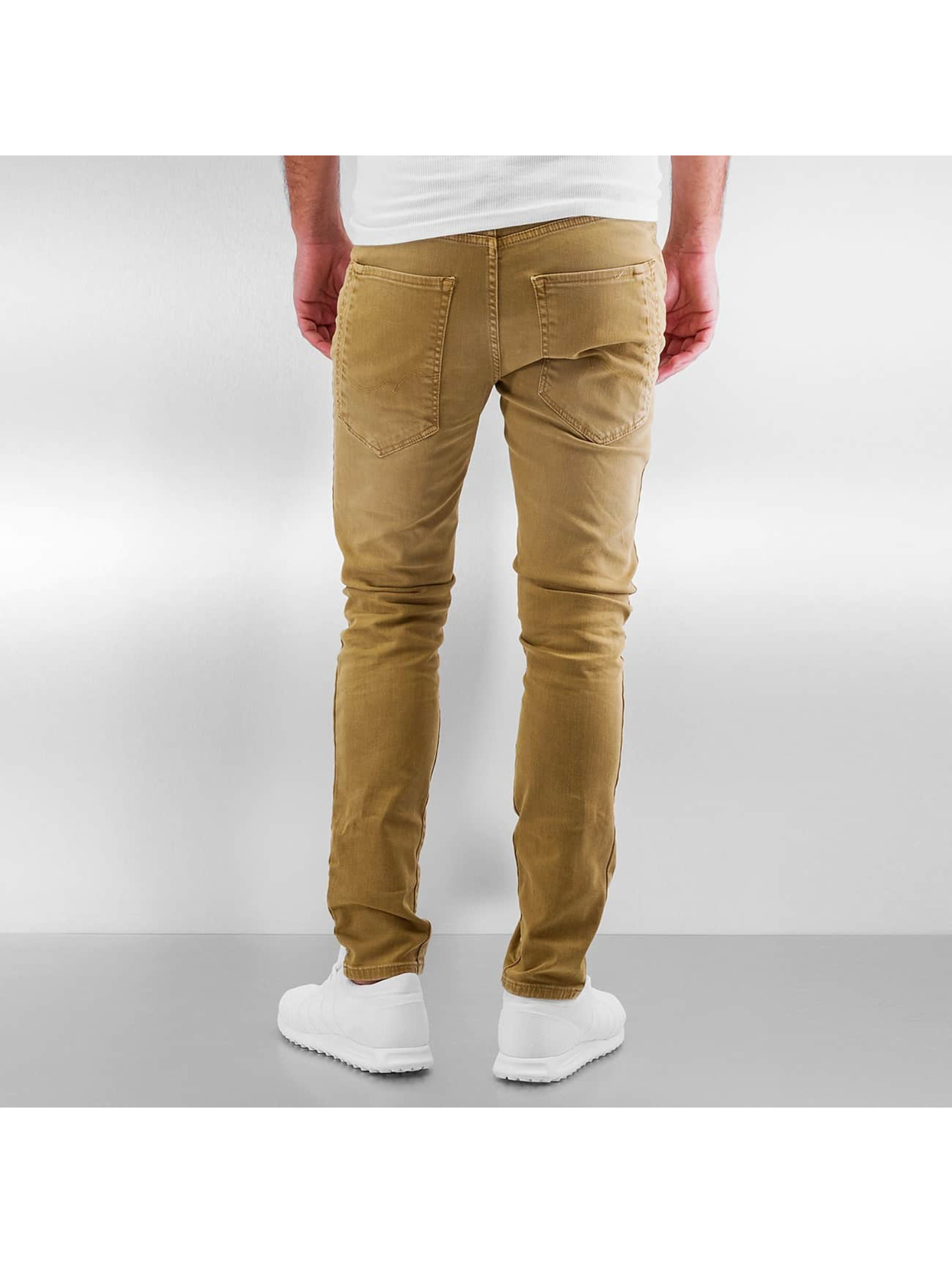 Jack & Jones Slim Fit Jeans jjIluke jjEcho JOS 999 brun