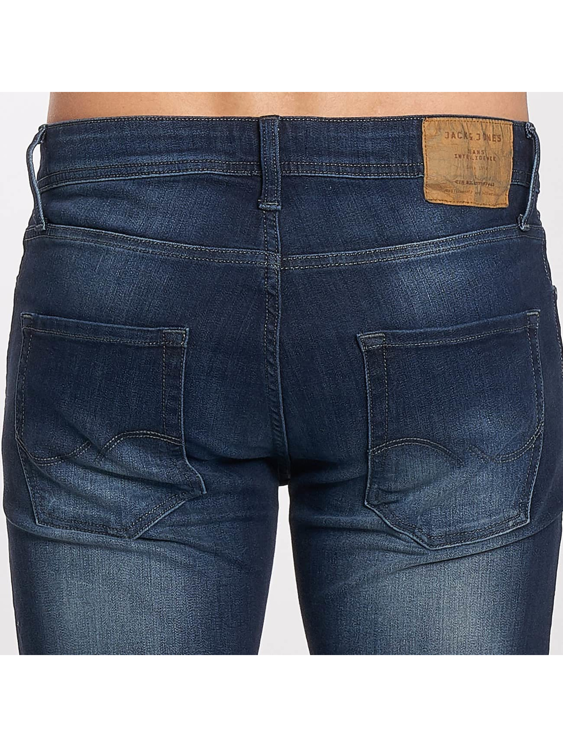 Jack & Jones Slim Fit Jeans jjiTim jjOriginal modrá
