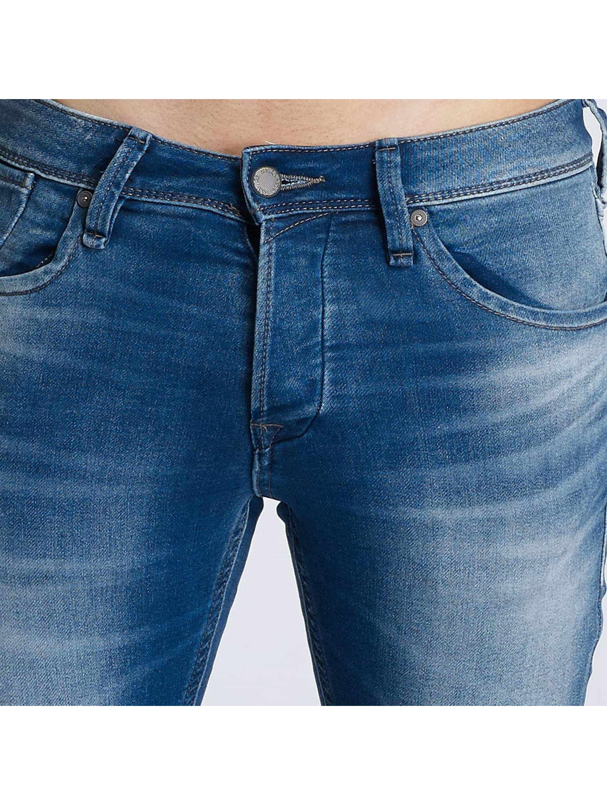 Jack & Jones Slim Fit Jeans jjiGlenn jjDash modrá
