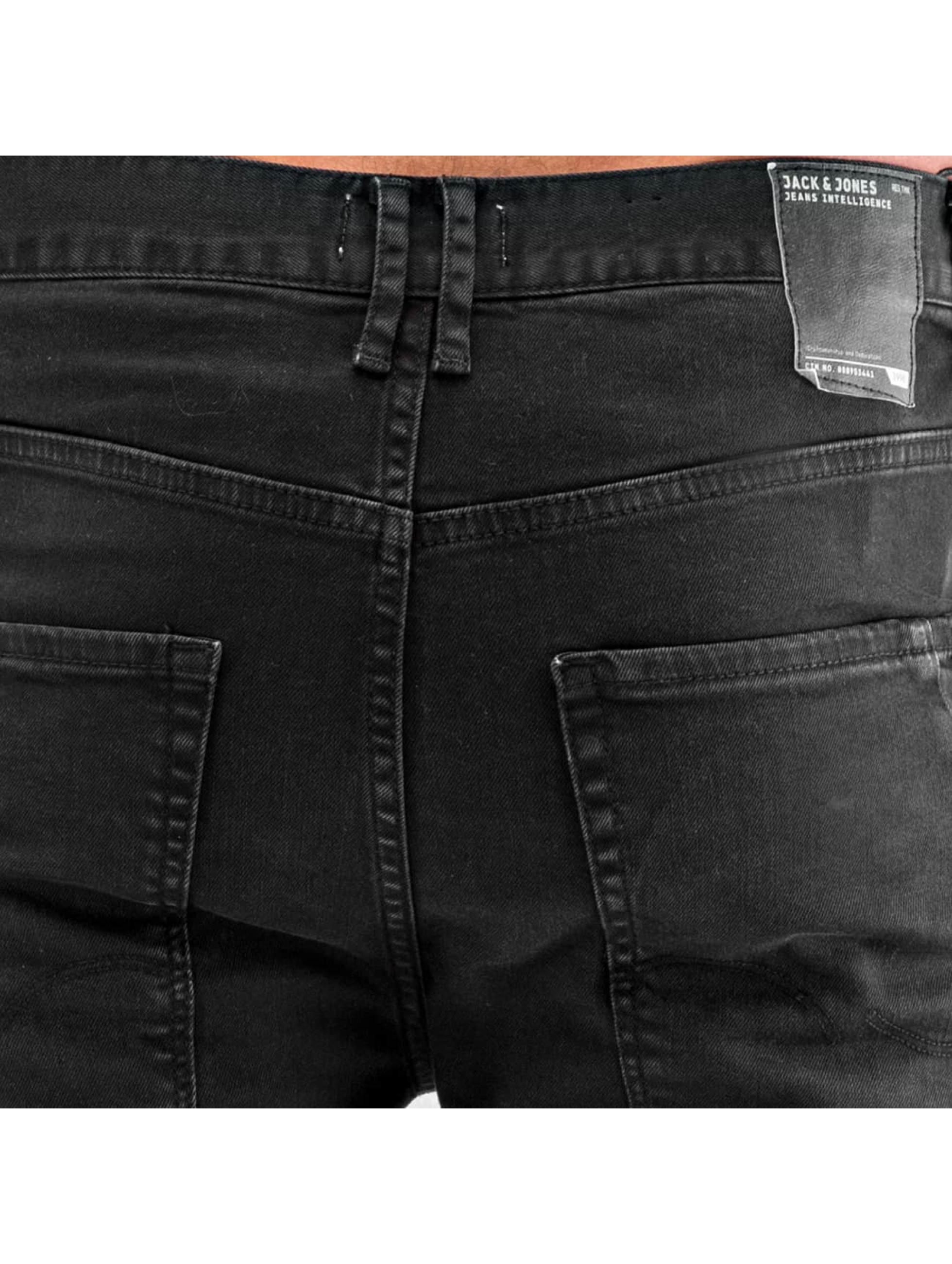 Jack & Jones Slim Fit Jeans jjIluke jjEcho JOS 999 svart