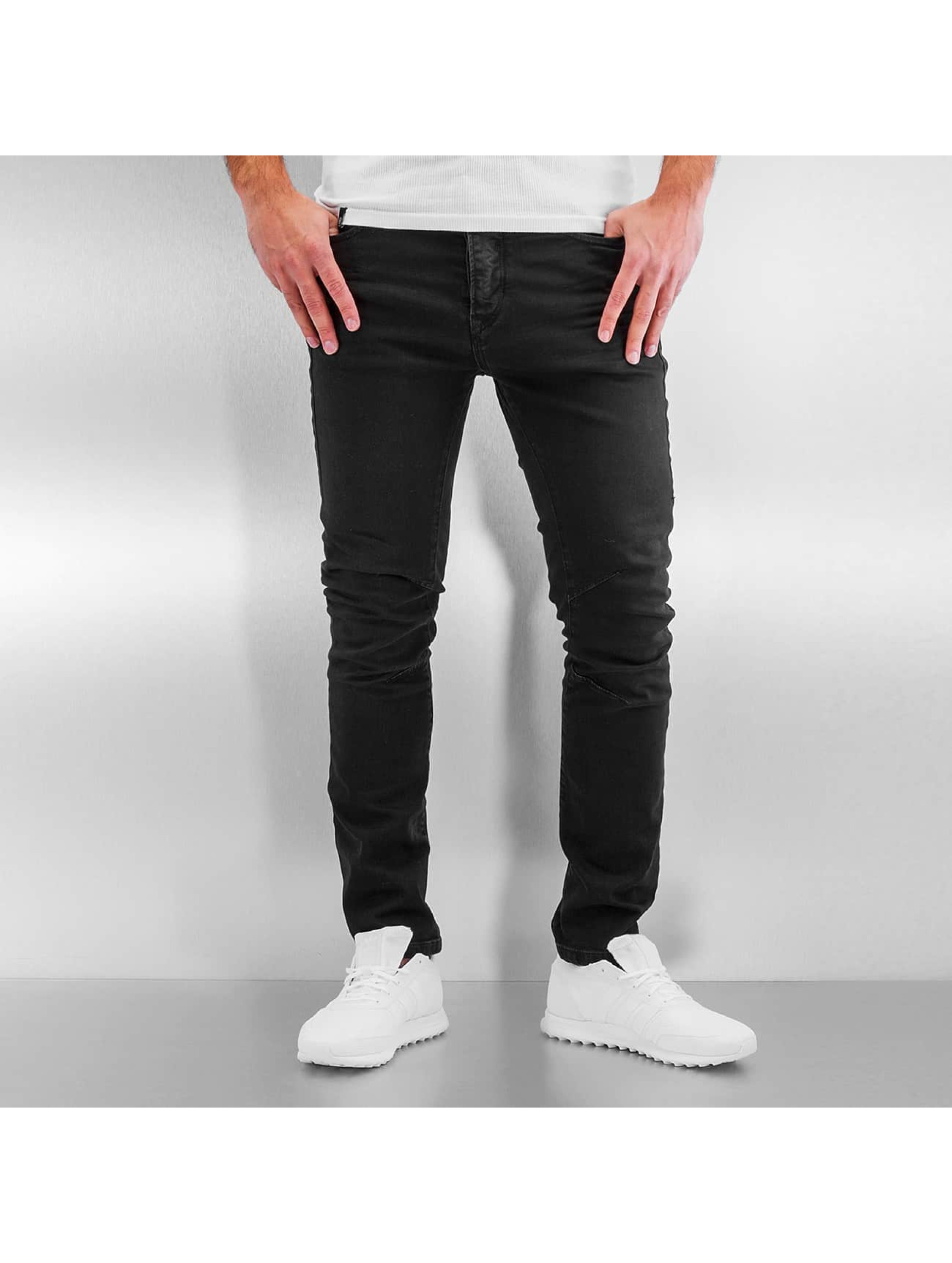 Jack & Jones Slim Fit Jeans jjIluke jjEcho JOS 999 zwart