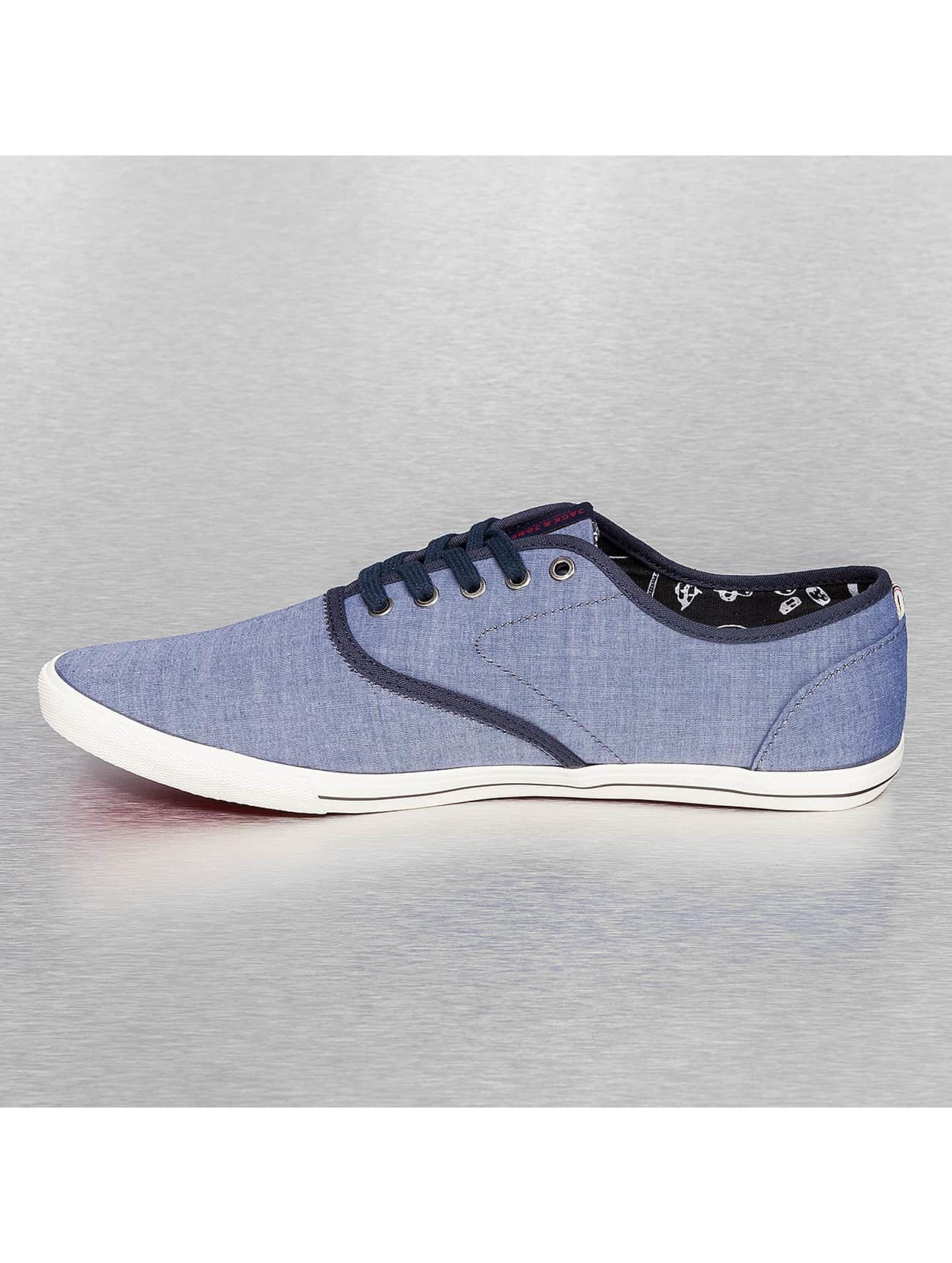 Jack & Jones sneaker Spider Chambray blauw