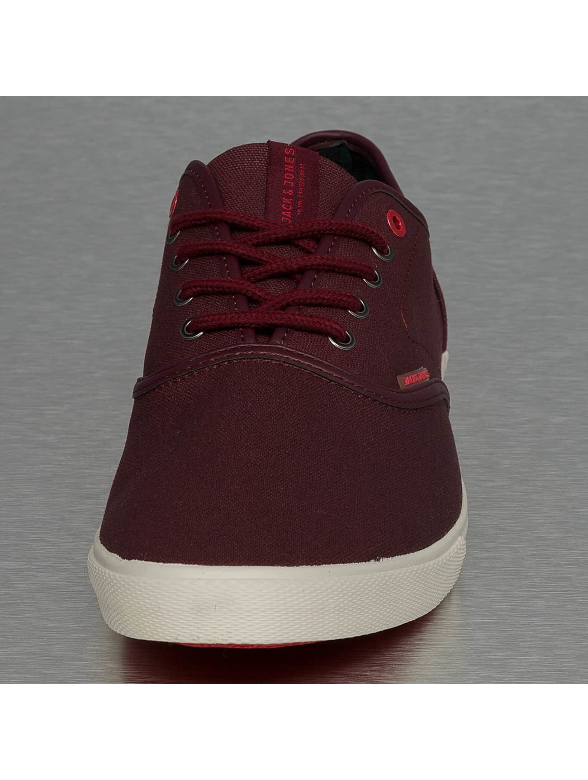 Jack & Jones Sneaker jfwSpider Waxed Canvas rot