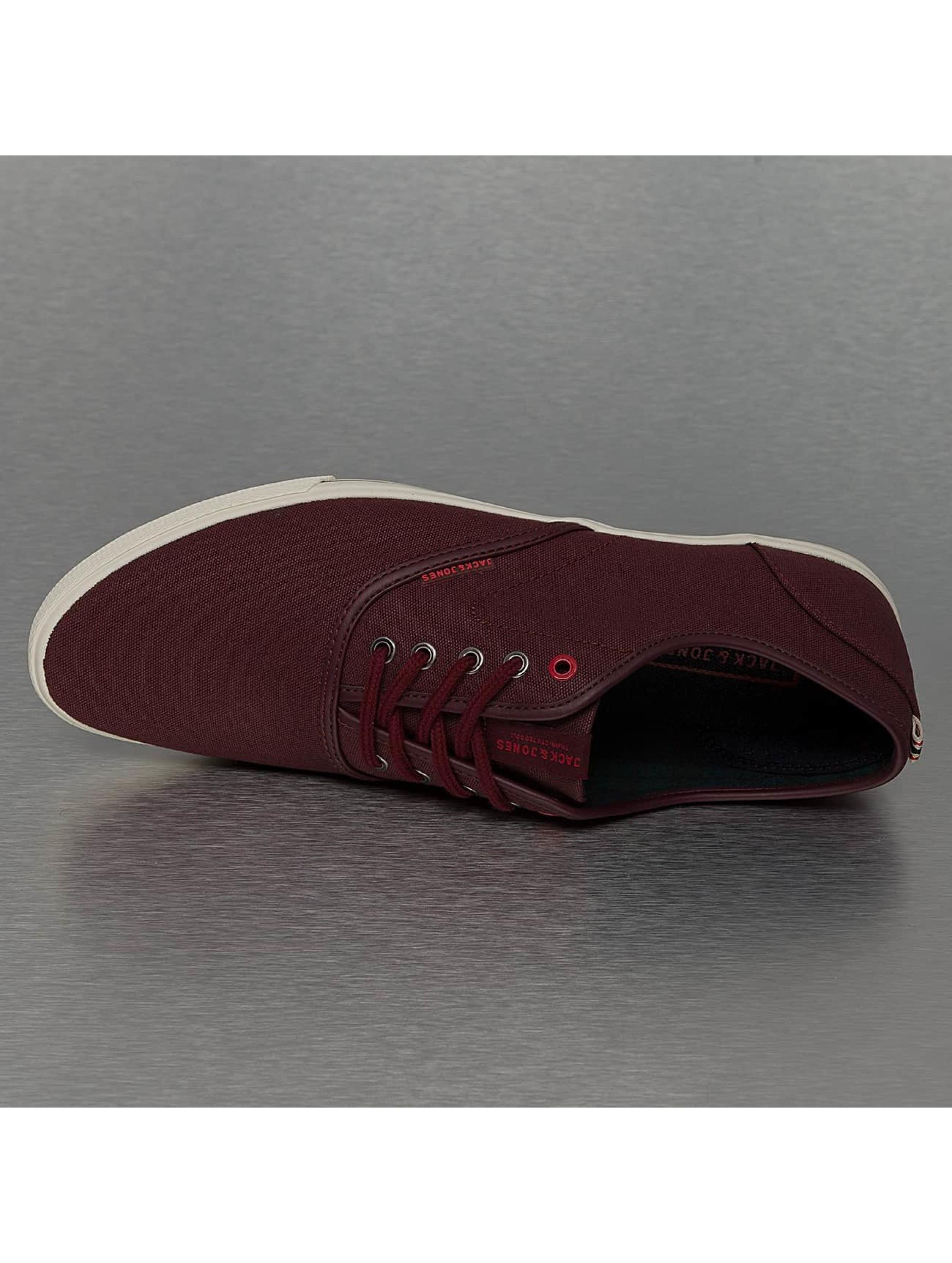 Jack & Jones Sneakers jfwSpider Waxed Canvas röd