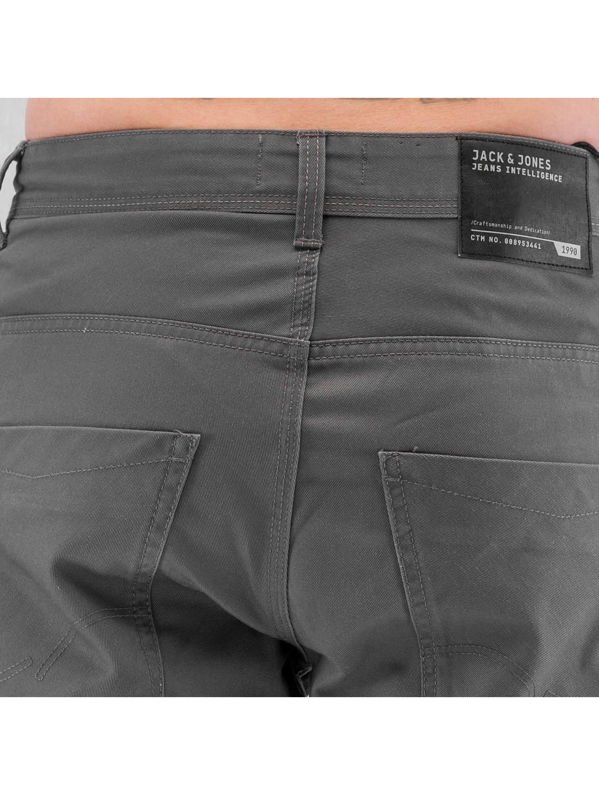 Jack & Jones Spodnie wizytowe jjiStan jjiSac szary