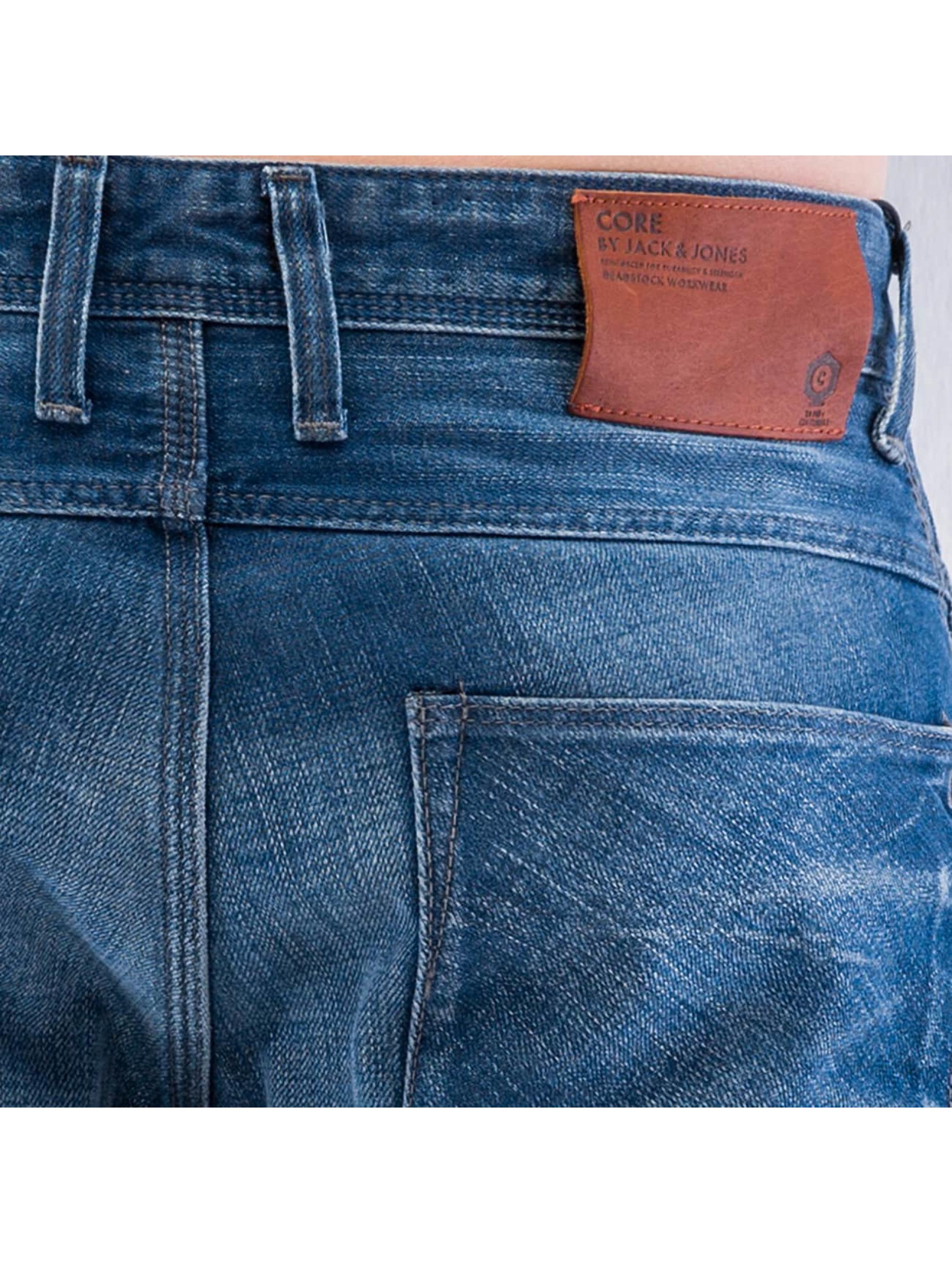 Jack & Jones Straight Fit Jeans jjBoxy jjLeed blau