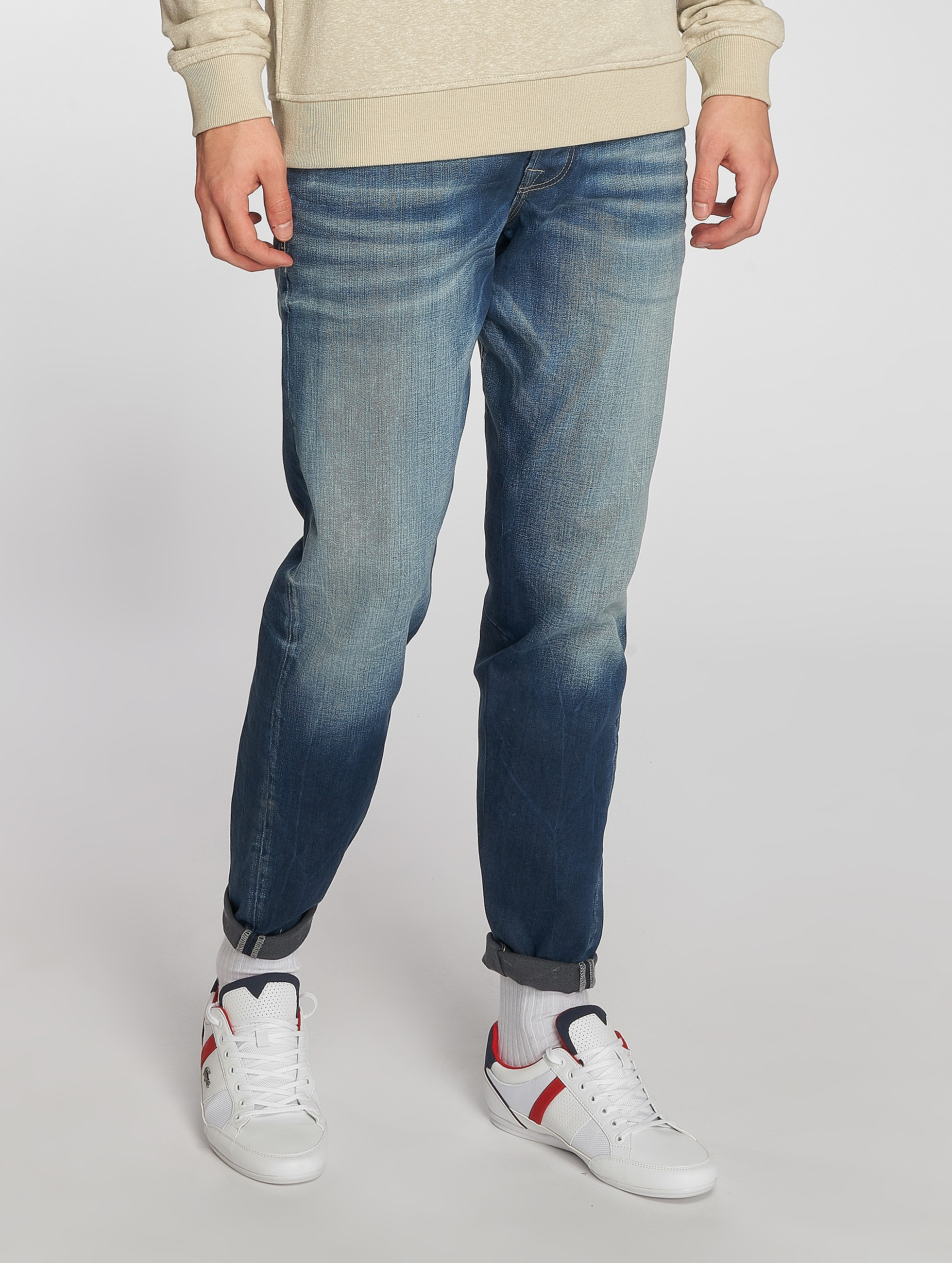 Jack & Jones Straight fit jeans Mike blauw
