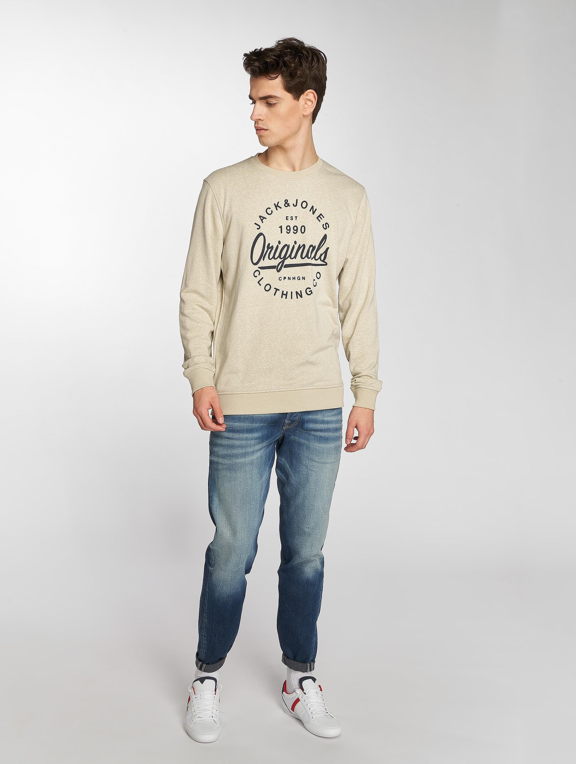 Jack & Jones Straight fit jeans Mike blauw