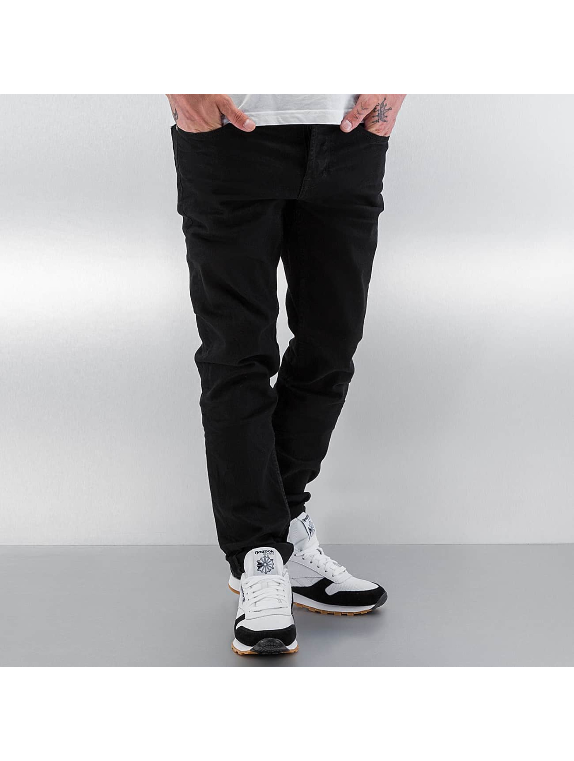 Jack & Jones Jeans / Straight Fit Jeans jjMike jjDevin in schwarz