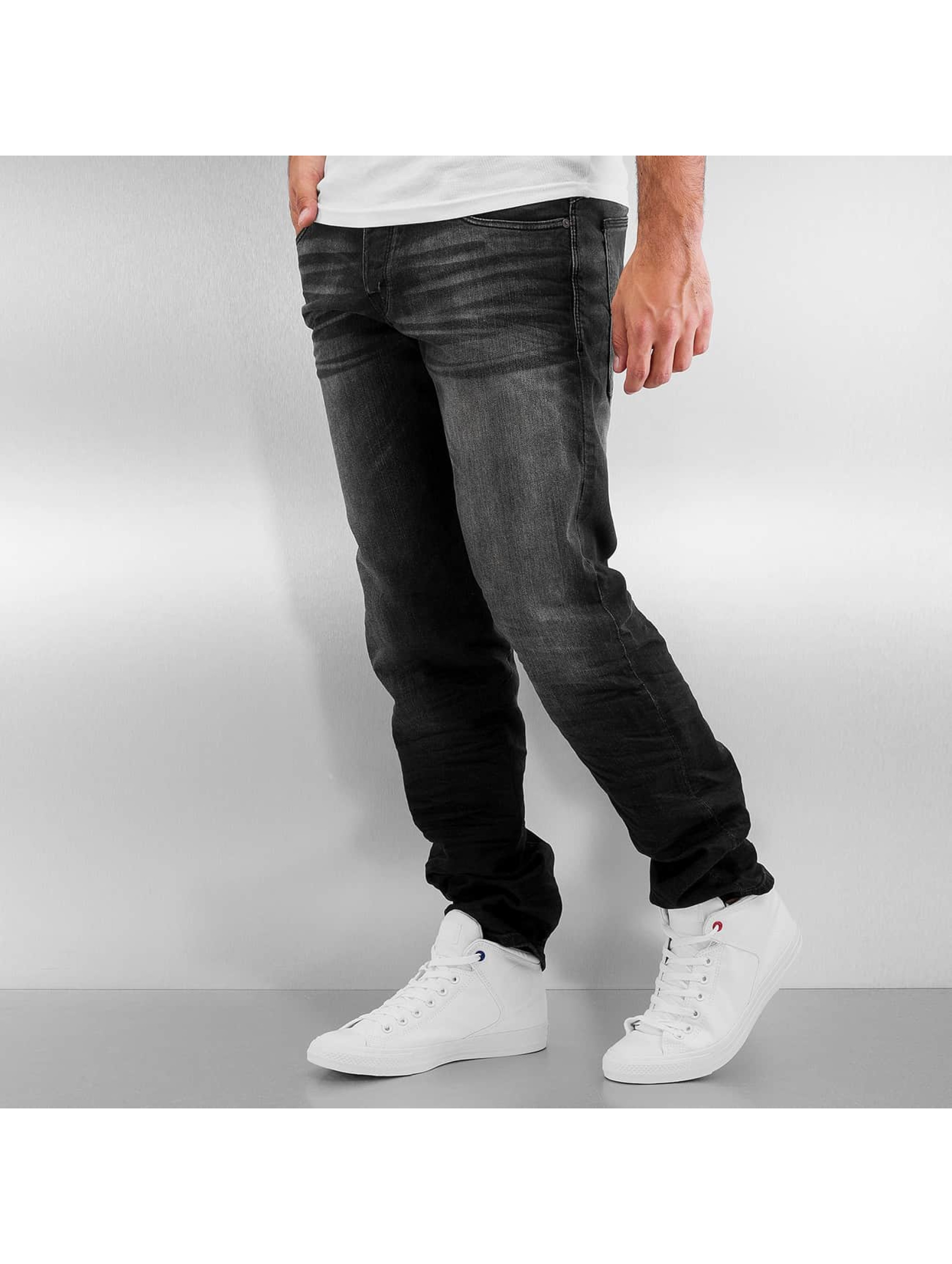 Jack & Jones Straight Fit Jeans jjiMike jjIron schwarz