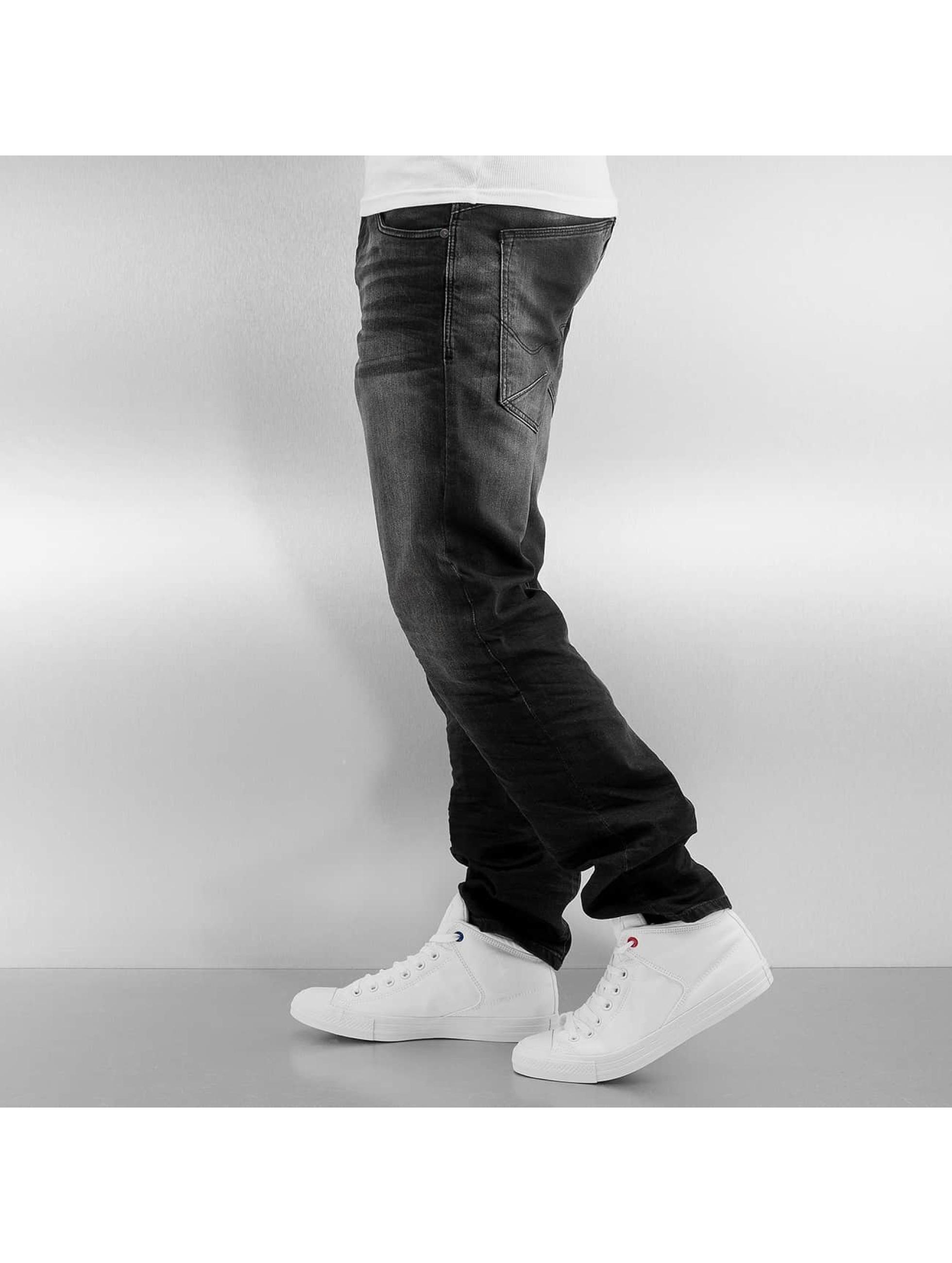 Jack & Jones Straight Fit Jeans jjiMike jjIron svart