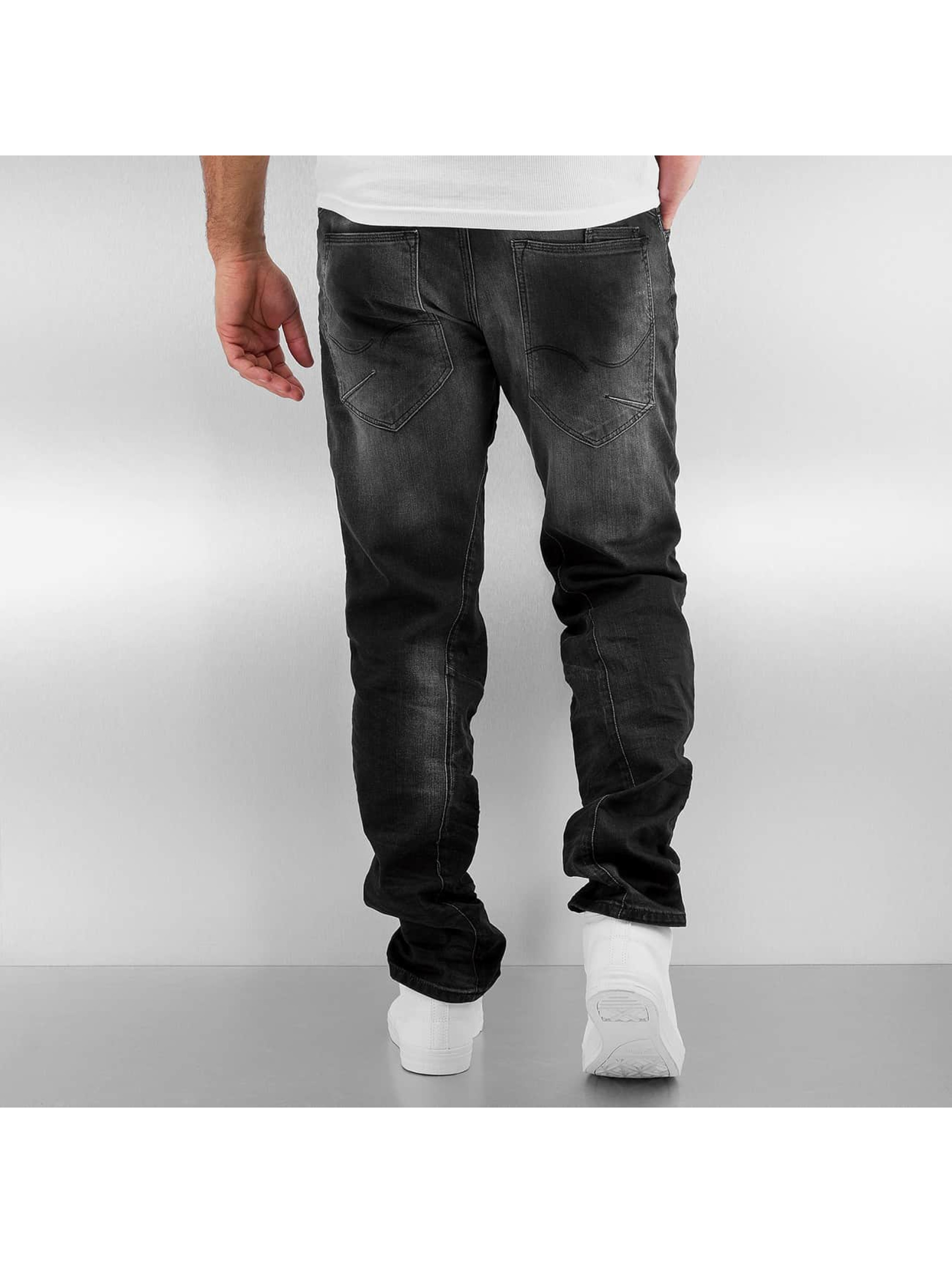 Jack & Jones Straight fit jeans jjiMike jjIron zwart