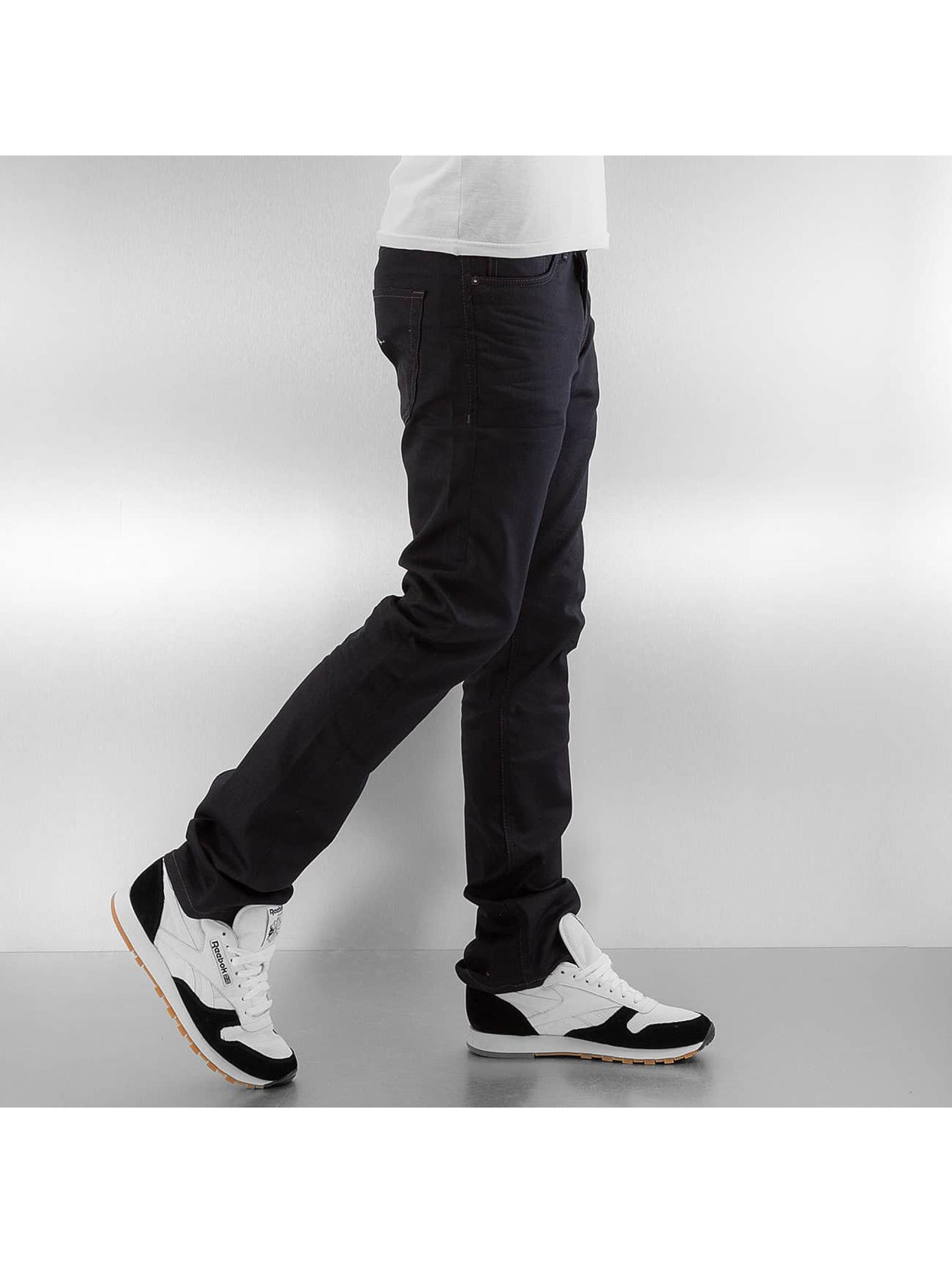 Jack & Jones Straight fit jeans jjIclark jjOriginal JOS 935 LID zwart