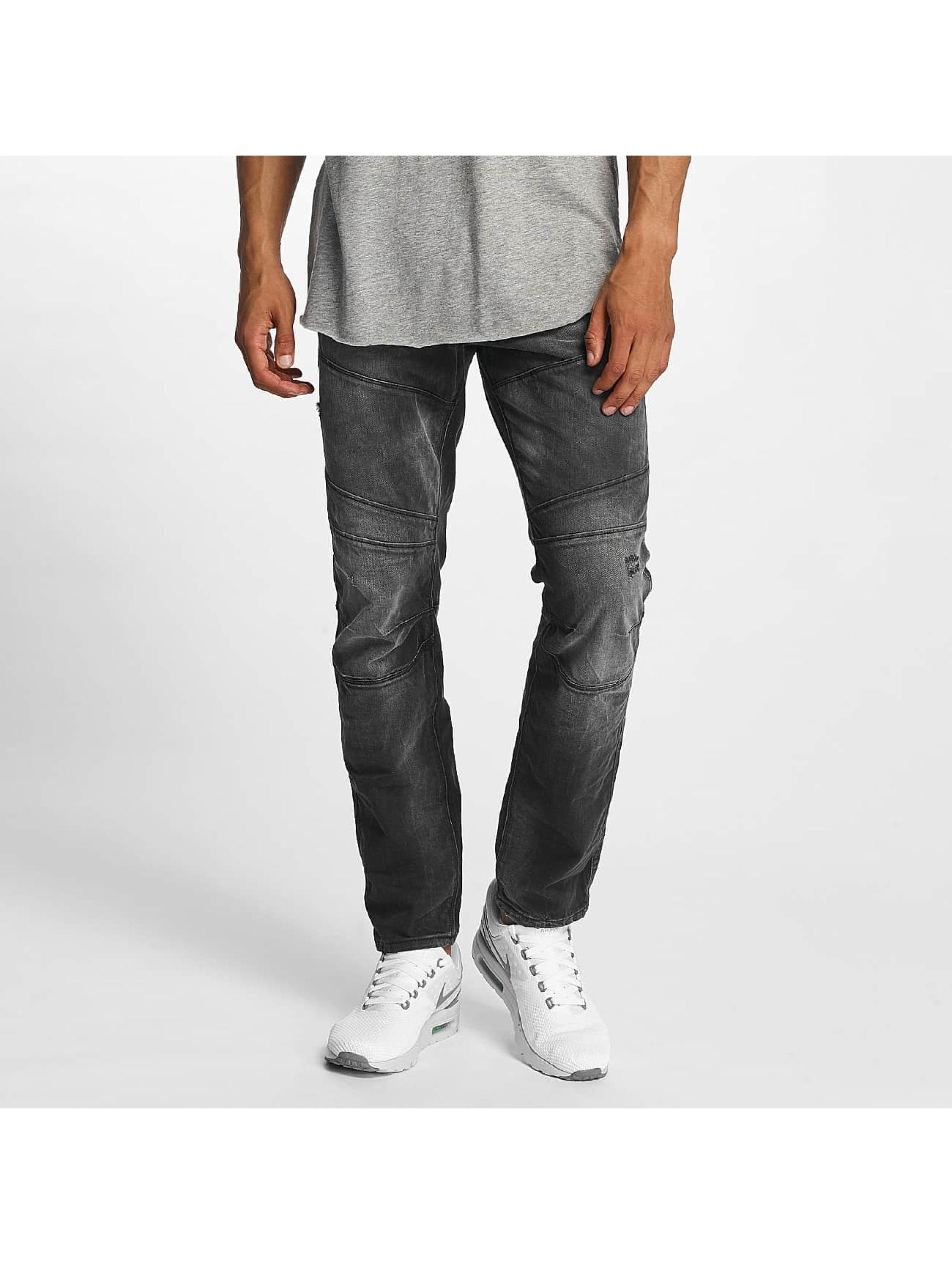 Jack & Jones Straight fit jeans jjiMike jjJax BL 793 zwart
