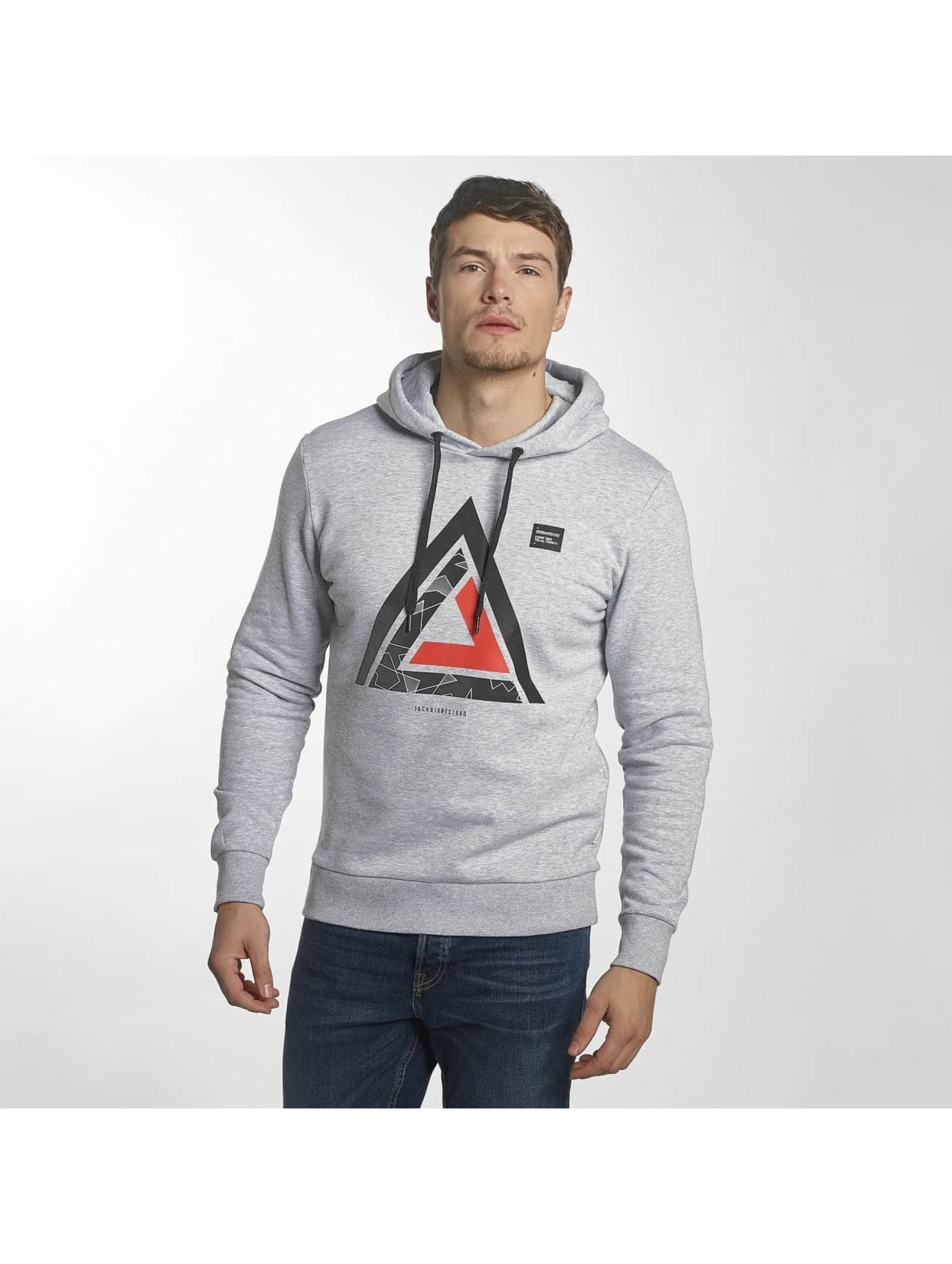 Jack & Jones Sweat capuche jcoMate gris