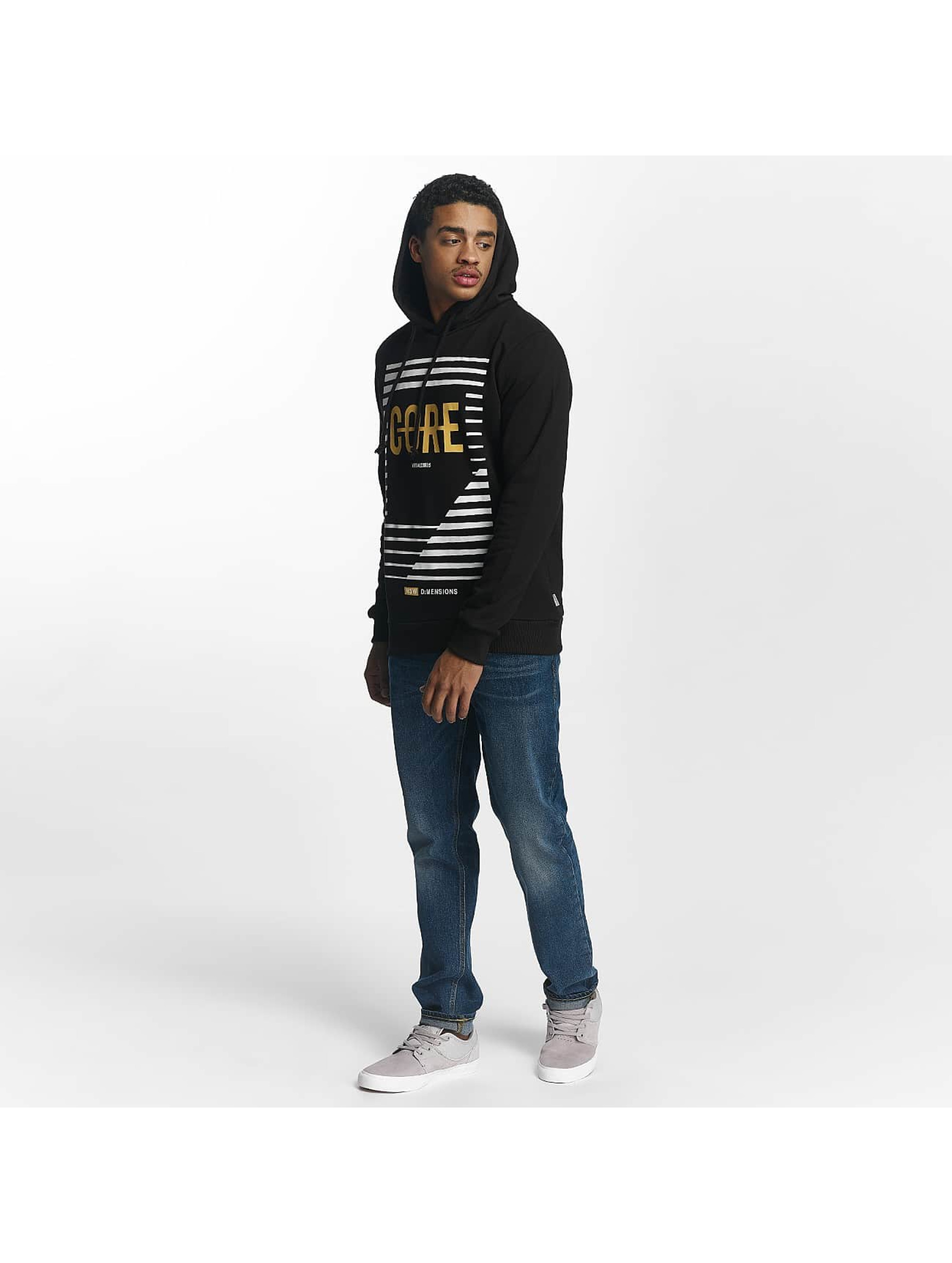 Jack & Jones Sweat capuche Dadar noir