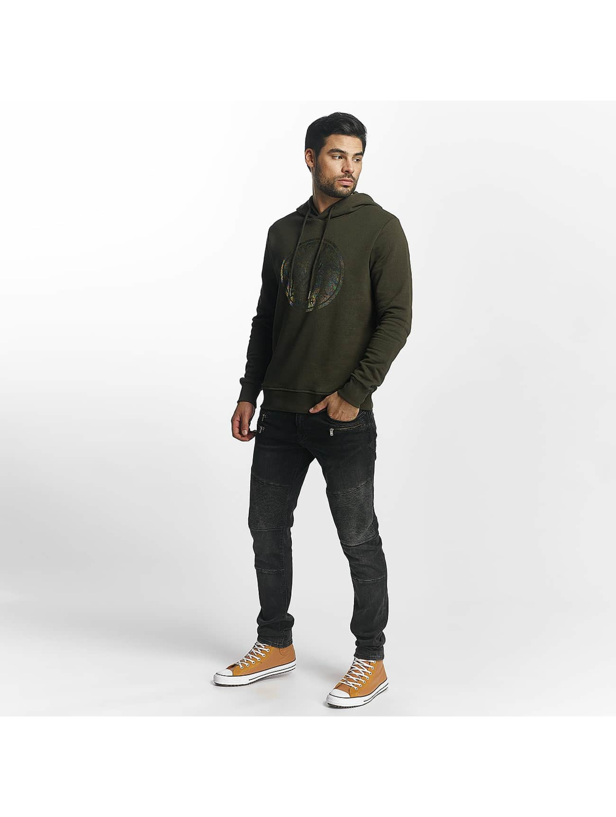 Jack & Jones Sweat capuche jorHologram olive