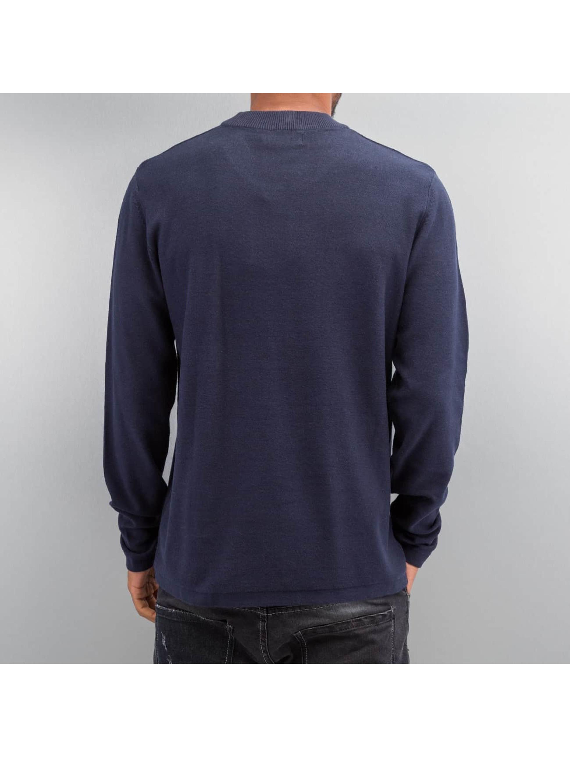Jack & Jones Swetry jorAsbjorn niebieski