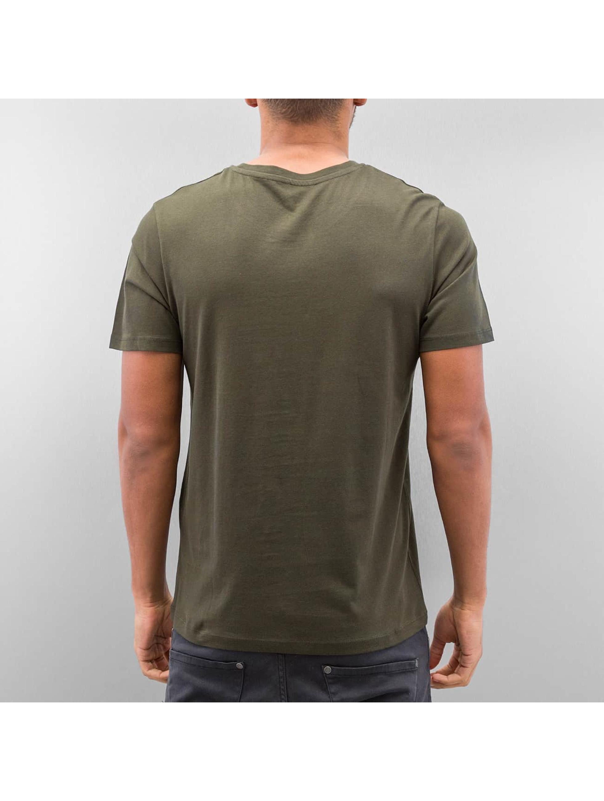 Jack & Jones T-paidat jjcoSystem oliivi
