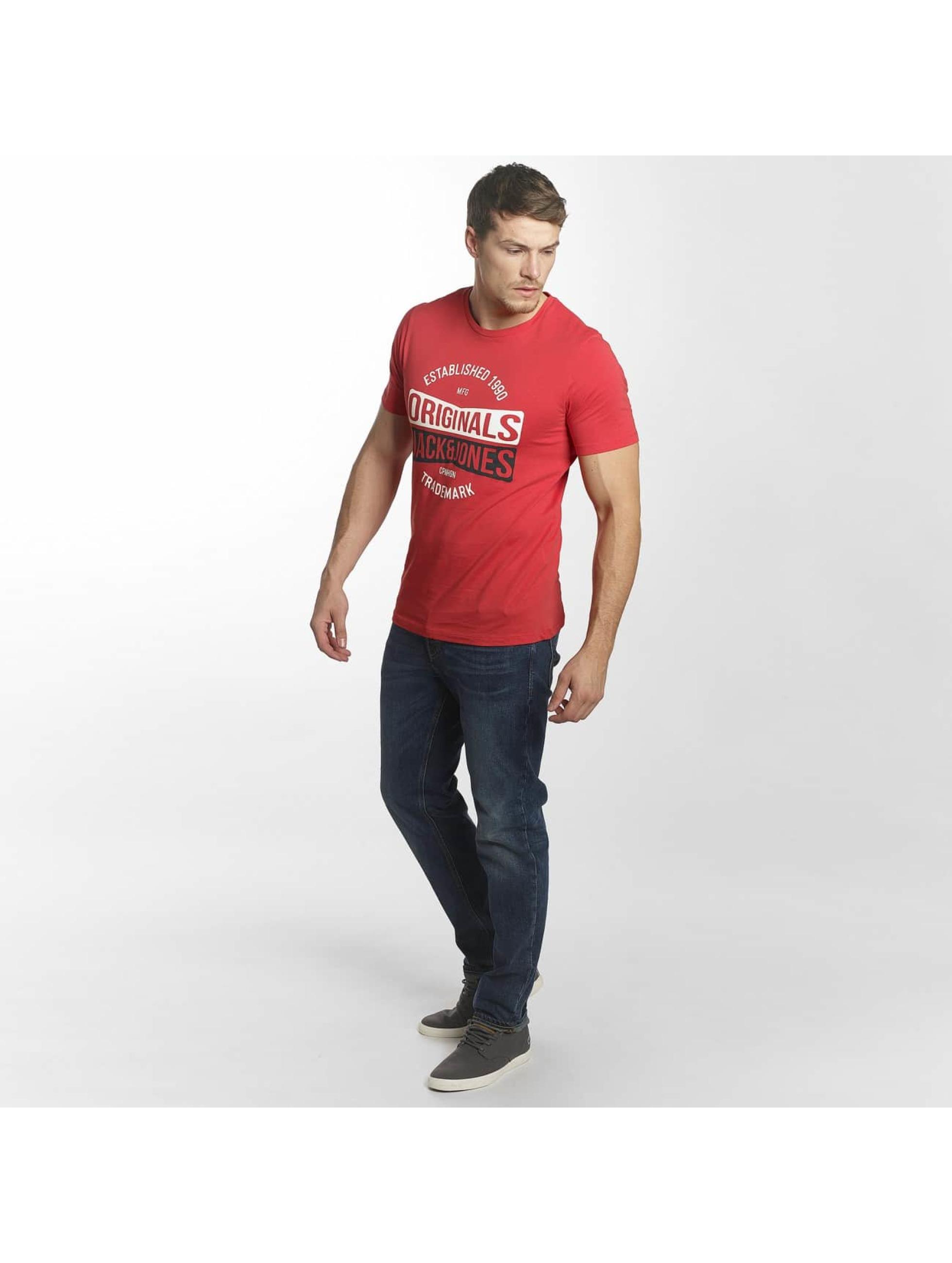 Jack & Jones T-paidat jorMusai punainen