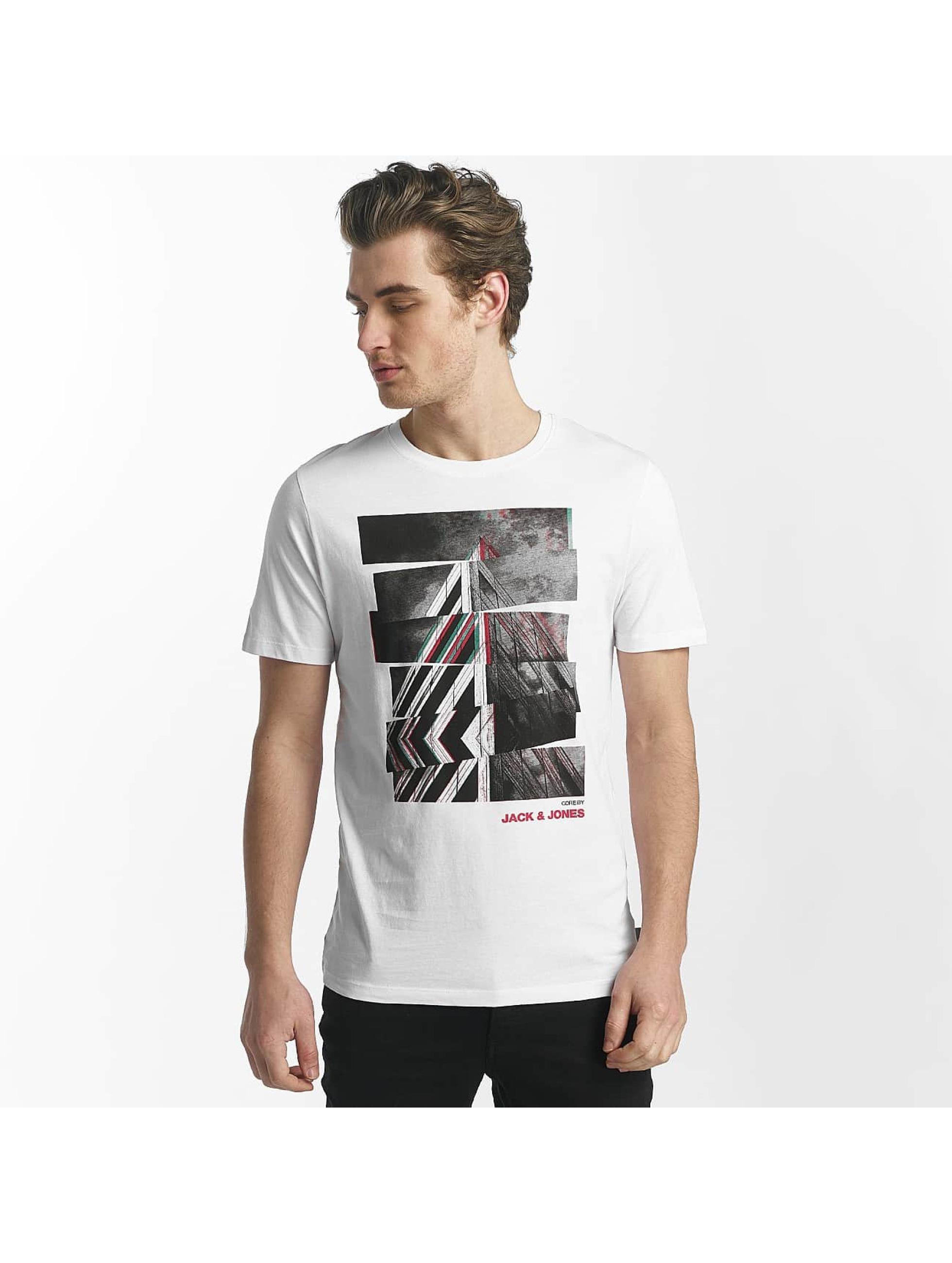 Jack & Jones T-paidat jcoHunter valkoinen