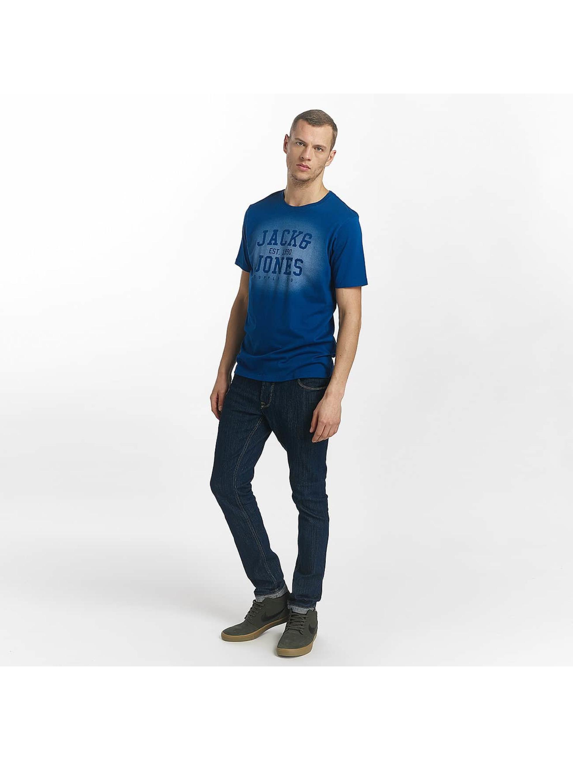 Jack & Jones T-shirt jorStencild blå