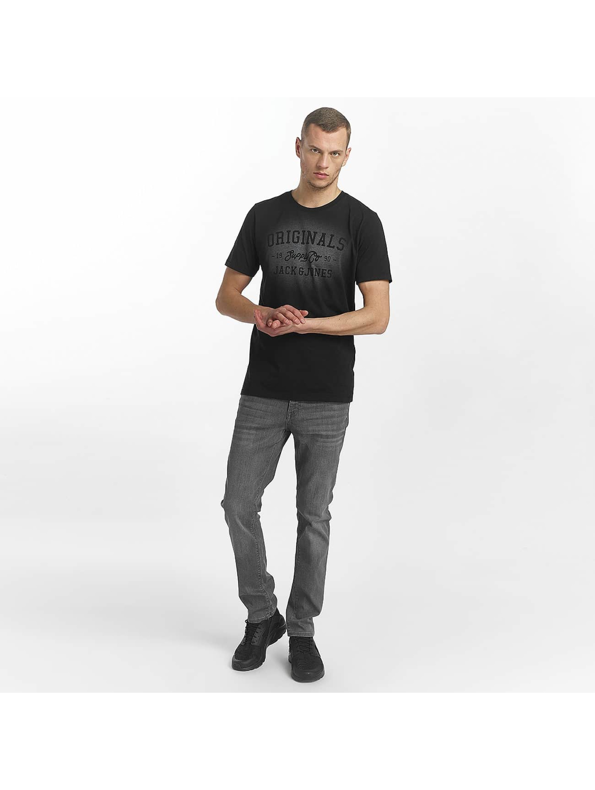 Jack & Jones T-Shirt jorStencild black