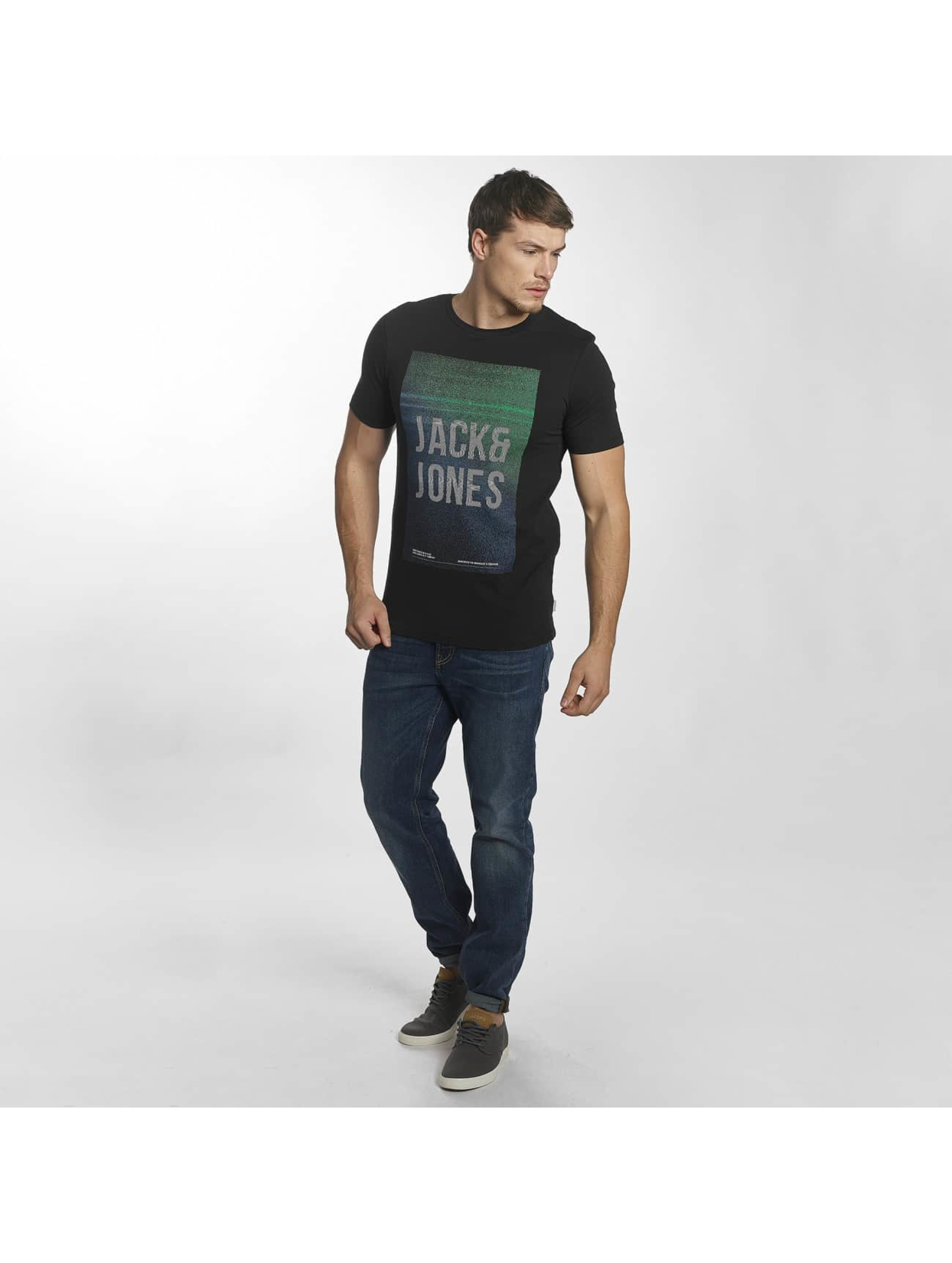 Jack & Jones T-Shirt jcoFly black