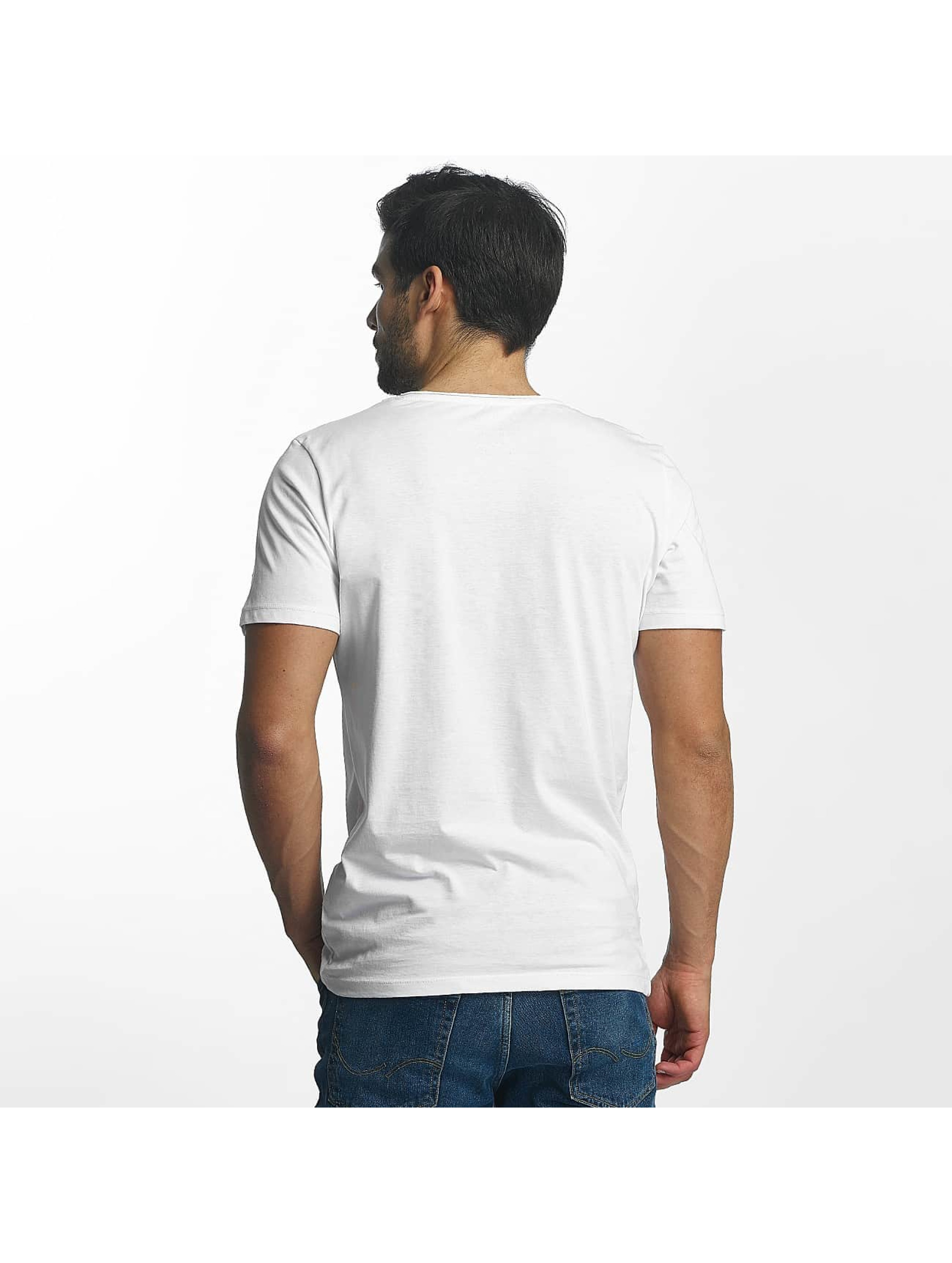 Jack & Jones T-Shirt Split blanc