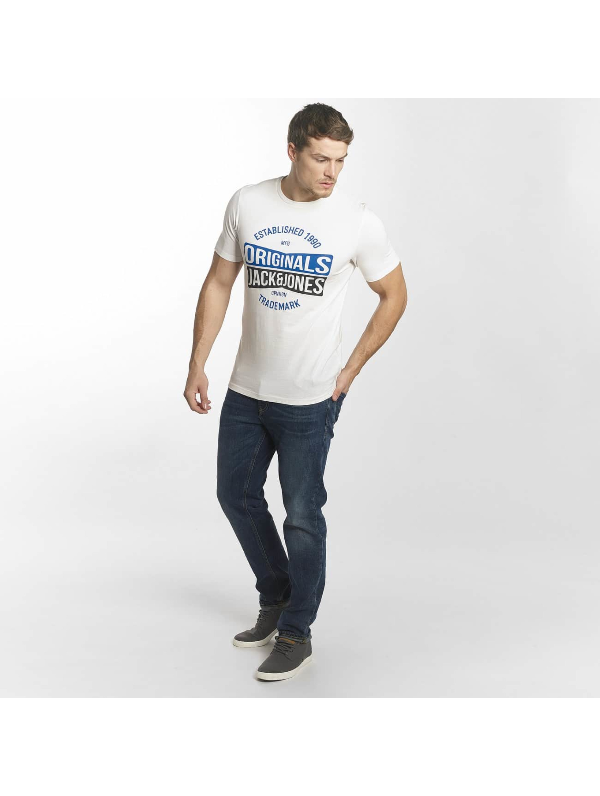 Jack & Jones T-Shirt jorMusai blanc