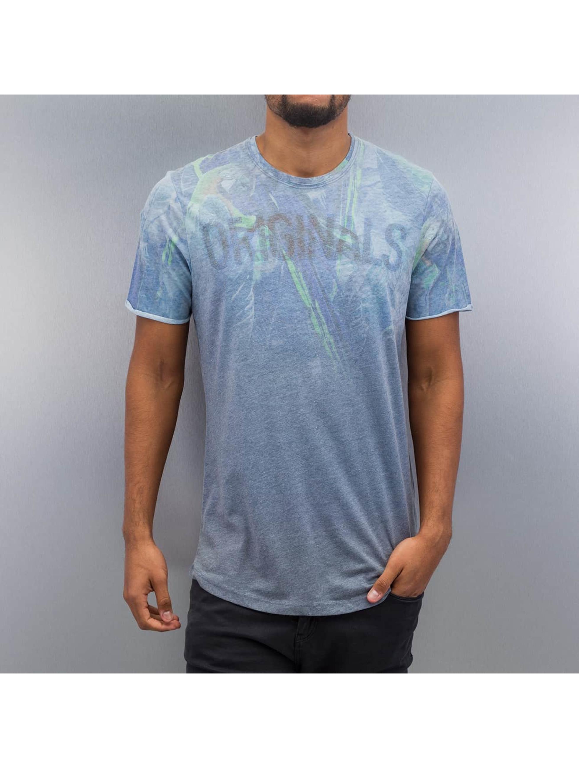 Jack & Jones T-Shirt jorDye blau