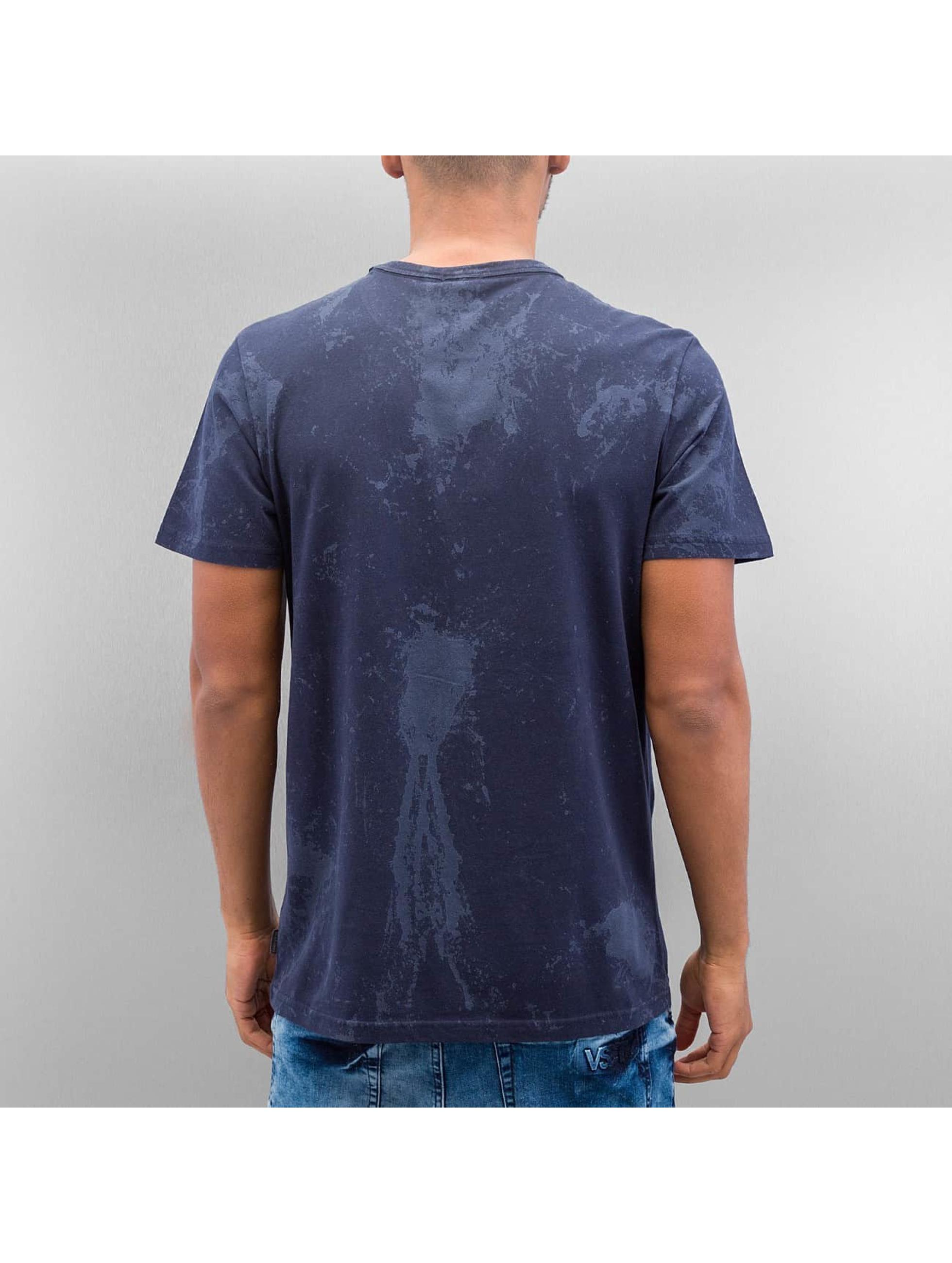 Jack & Jones T-Shirt jjorTowel blau