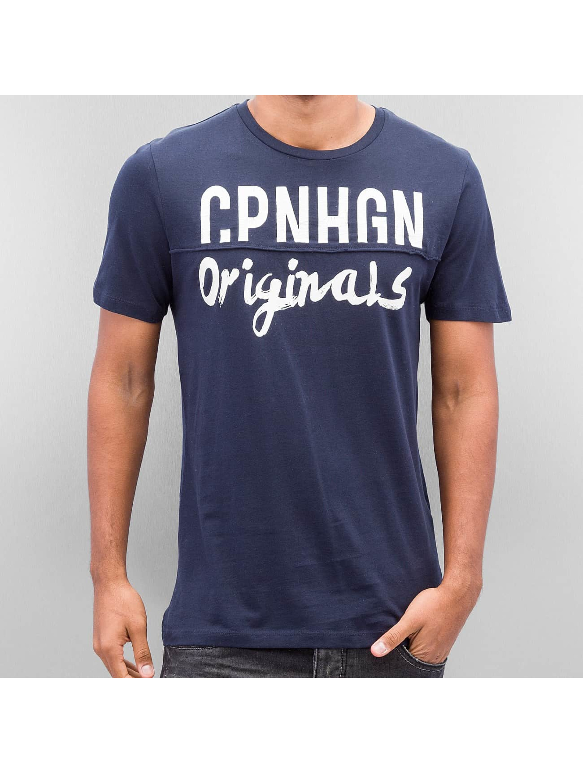 Jack & Jones T-Shirt Jorsedret blau