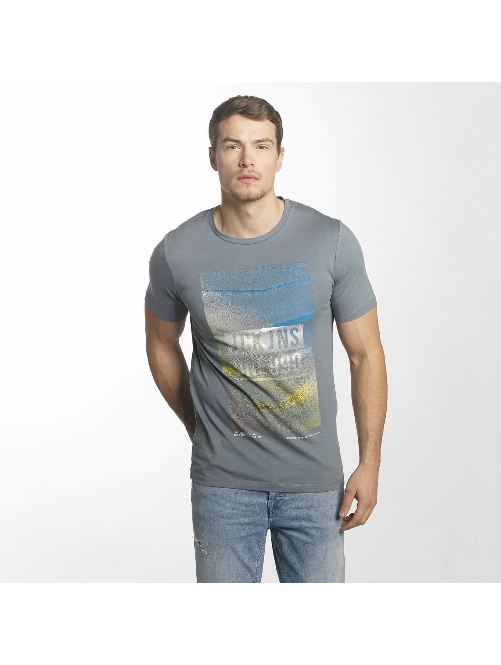 Jack & Jones T-Shirt jcoFly blau