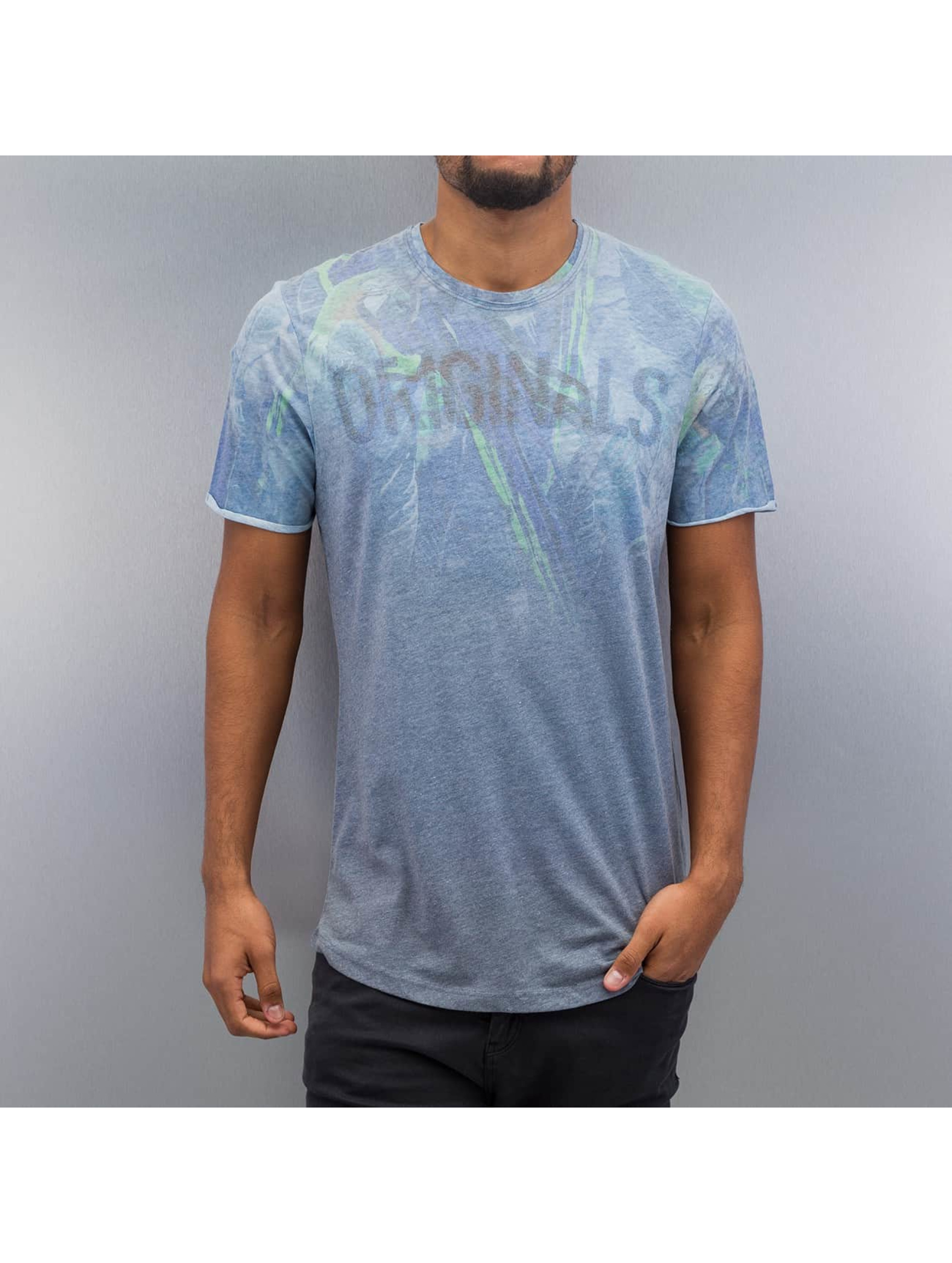 Jack & Jones t-shirt jorDye blauw