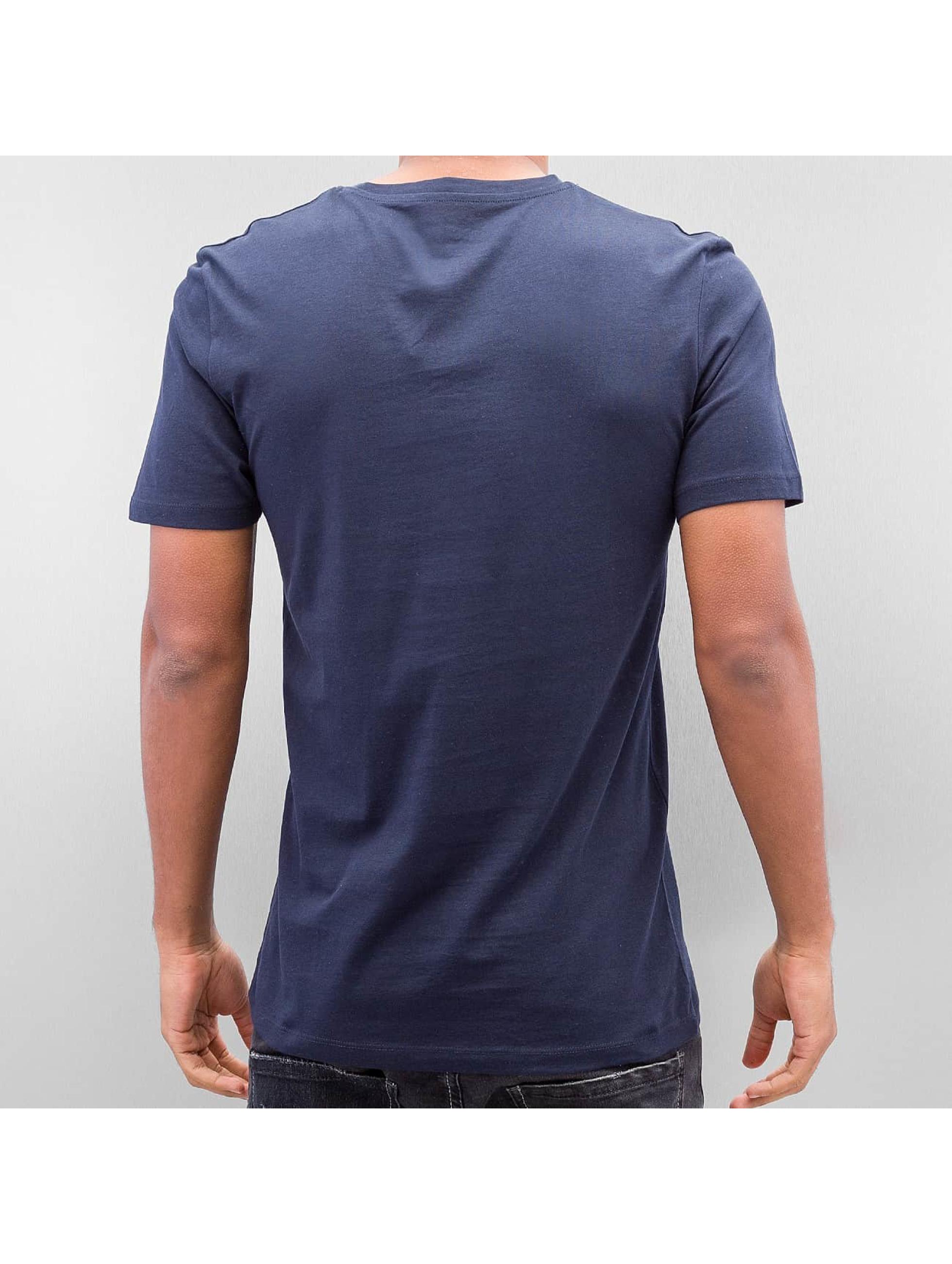 Jack & Jones t-shirt Jorsedret blauw
