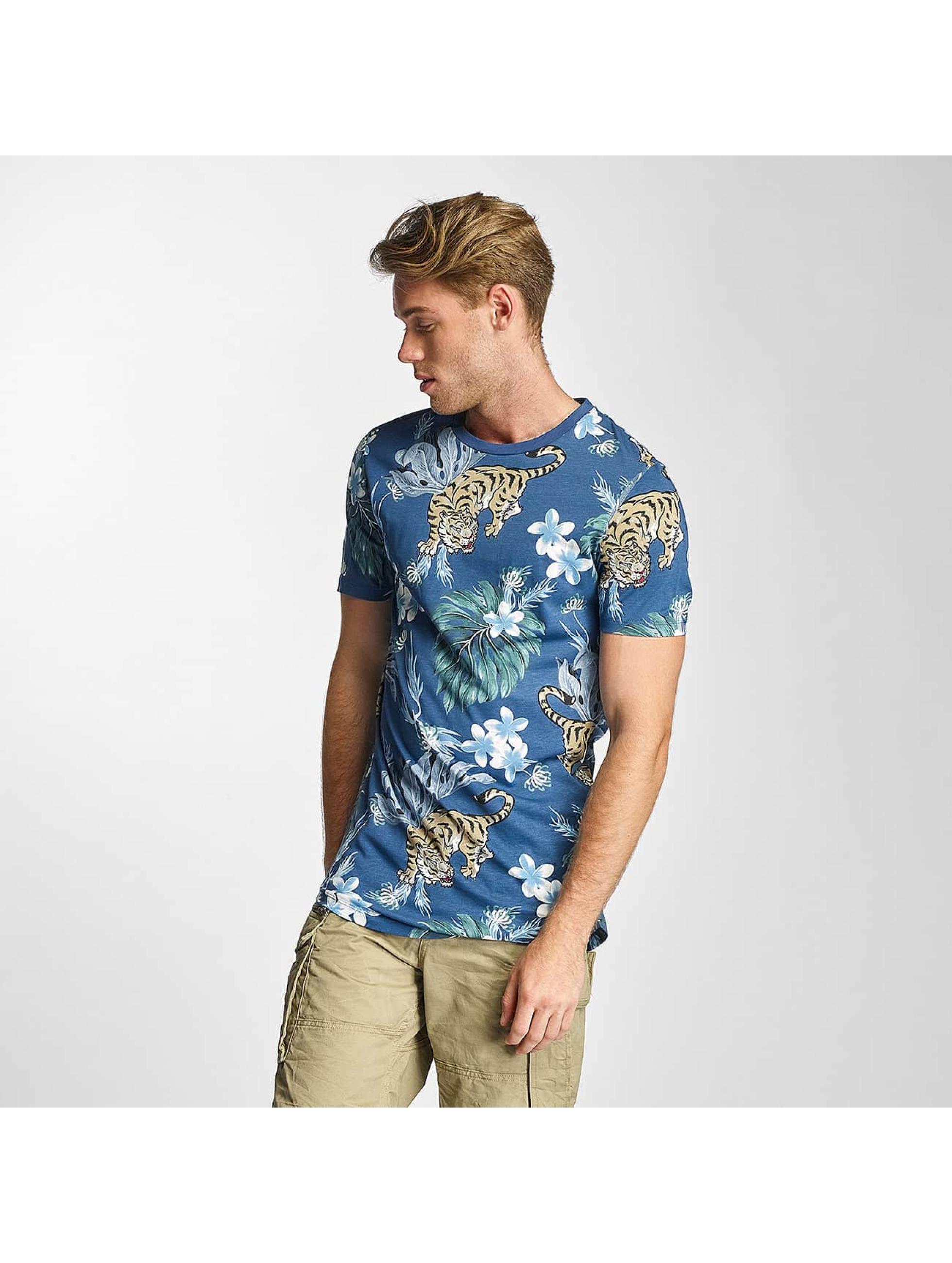 T-Shirt Jack & Jones jjorMusa en bleu