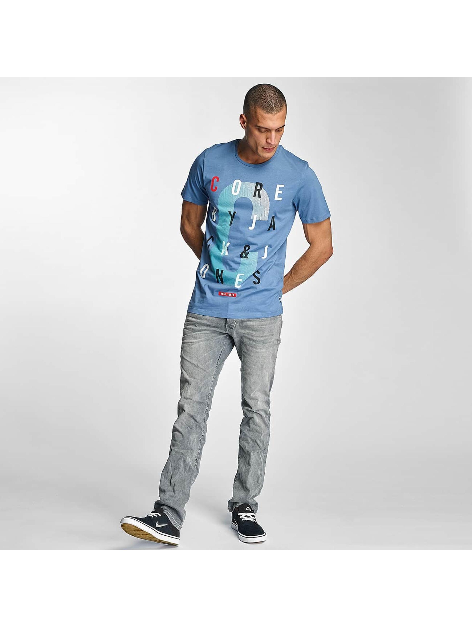 Jack & Jones T-Shirt jcoSora blue