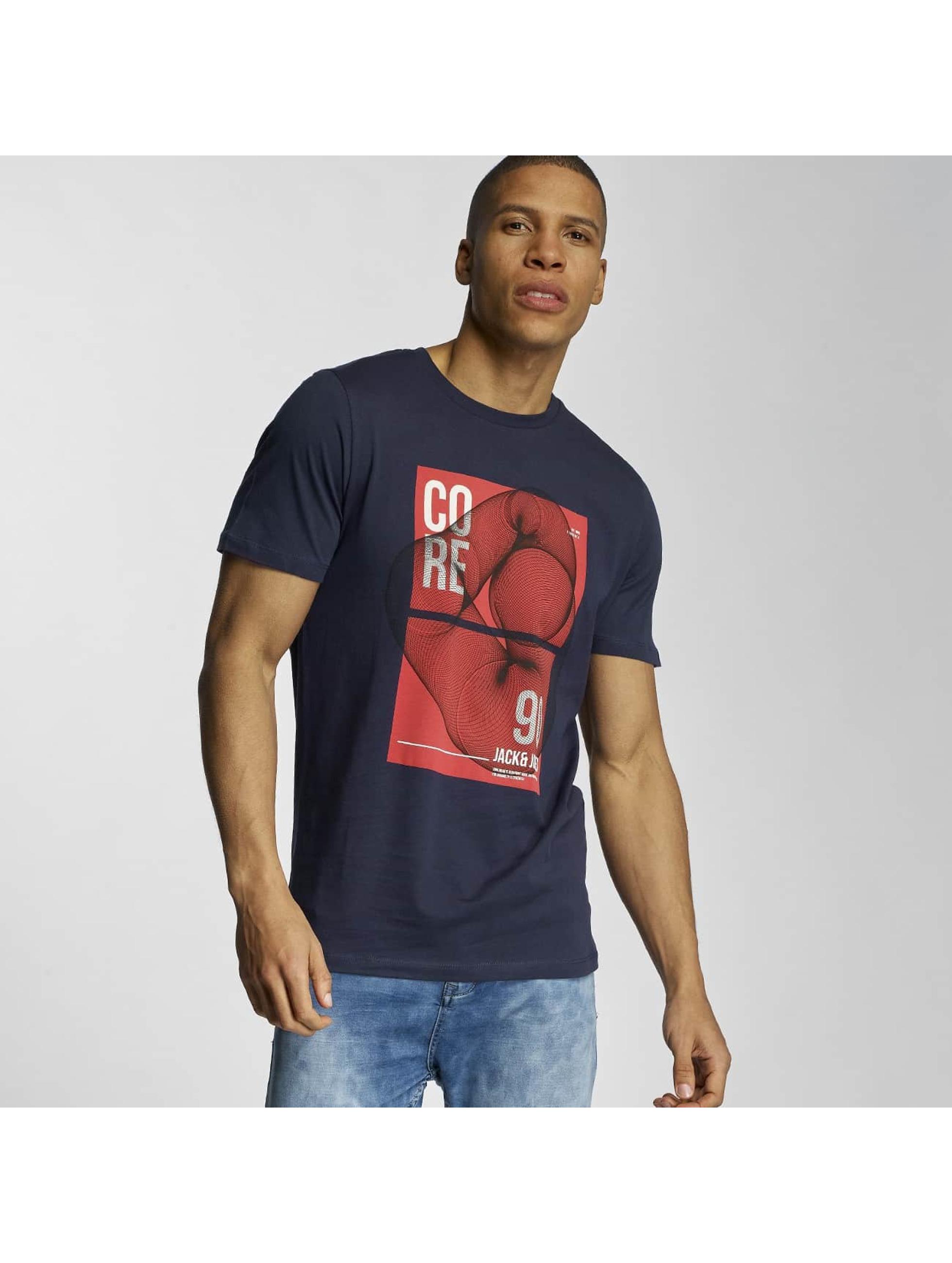 Jack & Jones T-Shirt jcoFaith blue