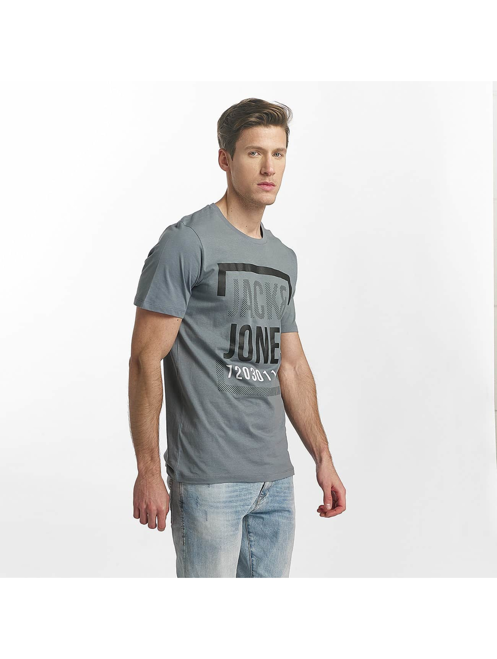 Jack & Jones T-Shirt jcoLine blue