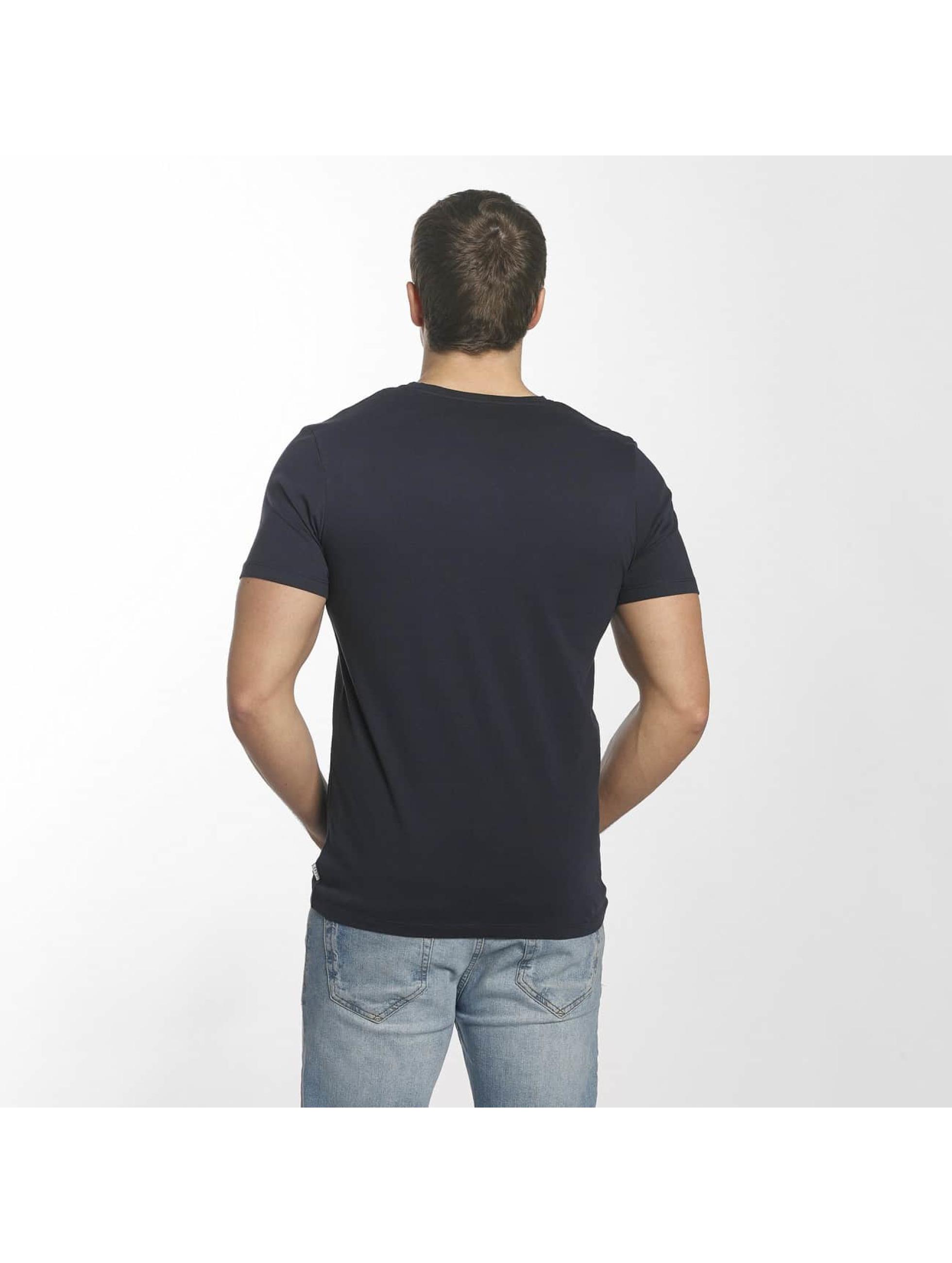 Jack & Jones T-Shirt jcoFly blue