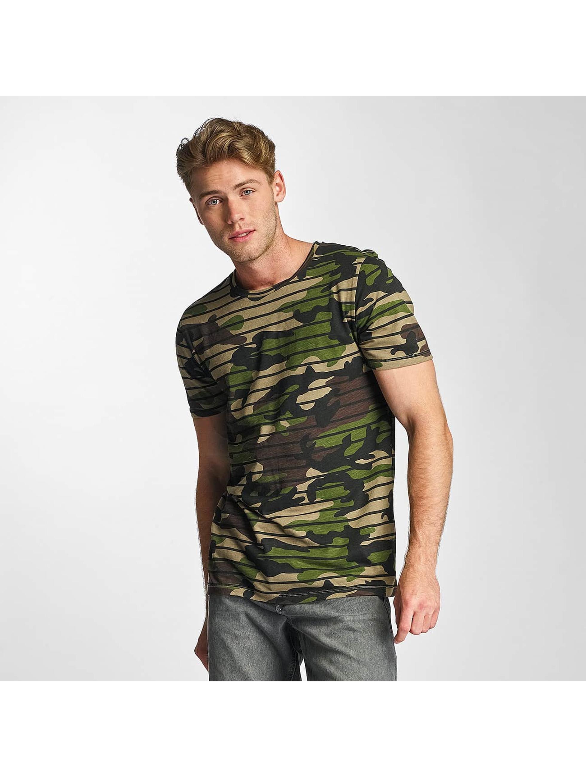 Jack & Jones Haut / T-Shirt jorMarti en camouflage