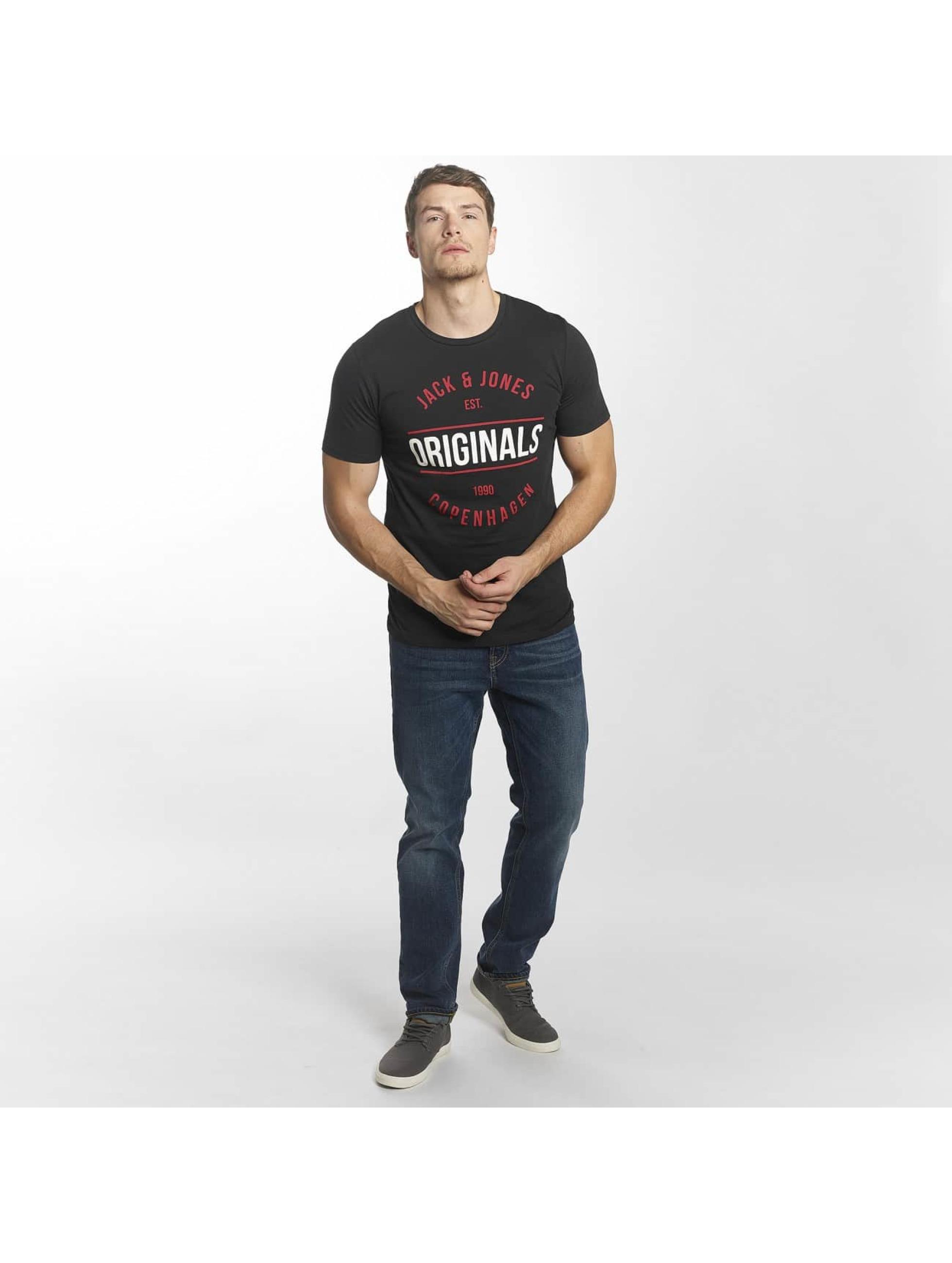 Jack & Jones T-Shirt jorMusai grau