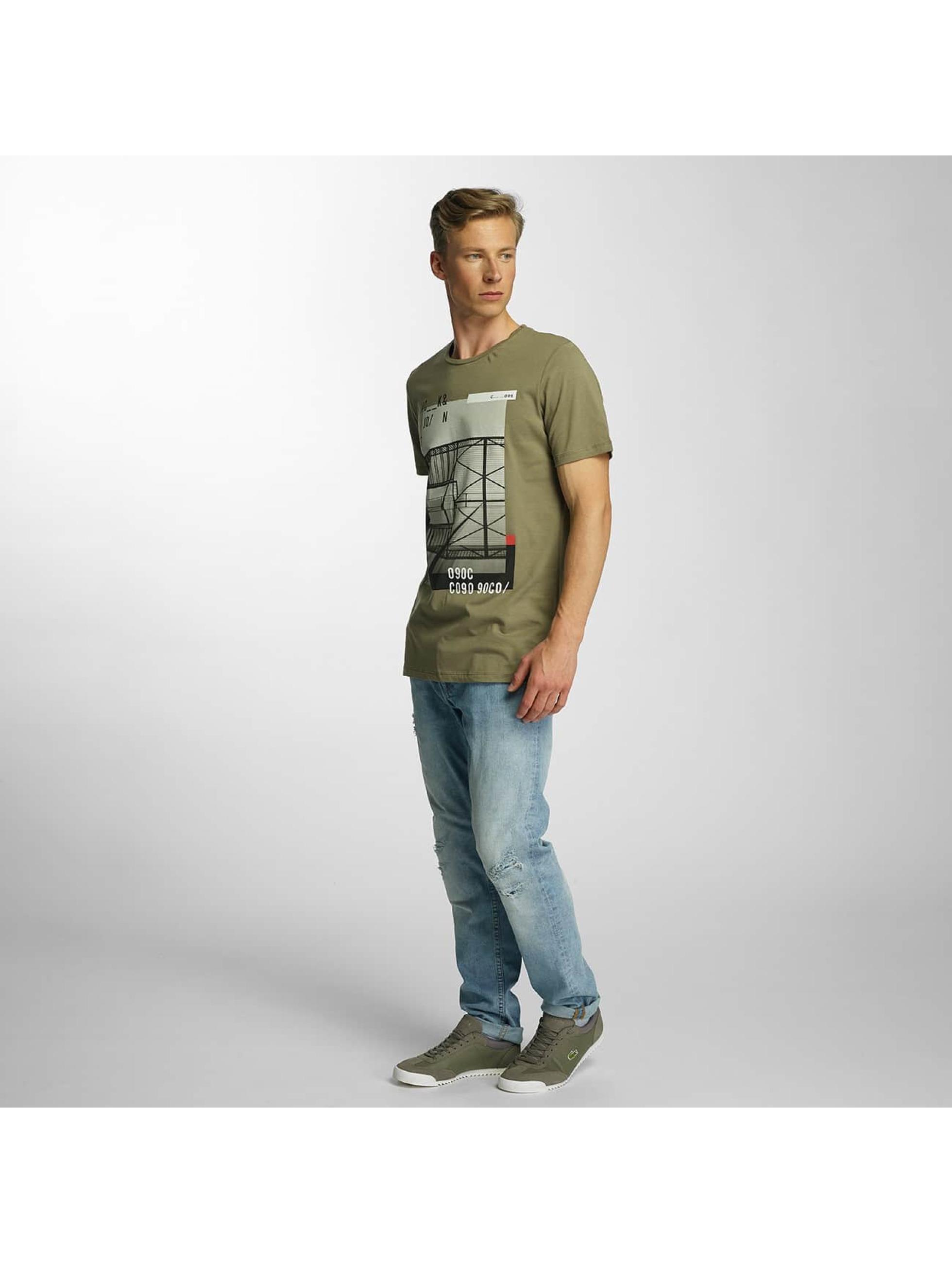 Jack & Jones T-Shirt jcoCita green