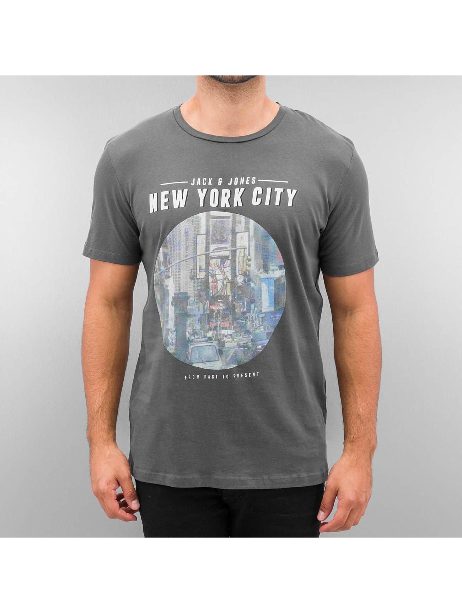 Jack & Jones T-Shirt jorLook grey