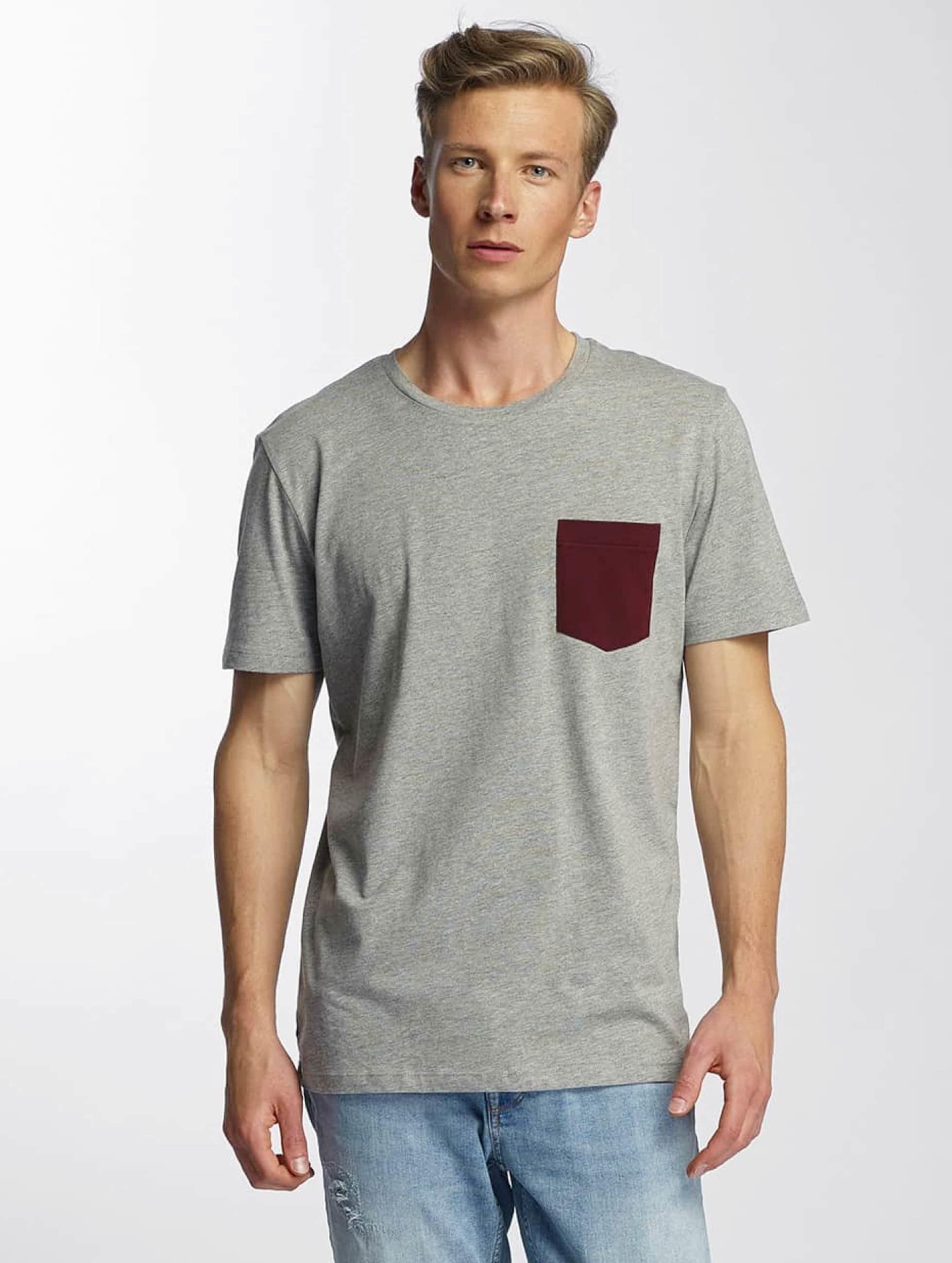 Jack & Jones T-Shirt jcoTable gris