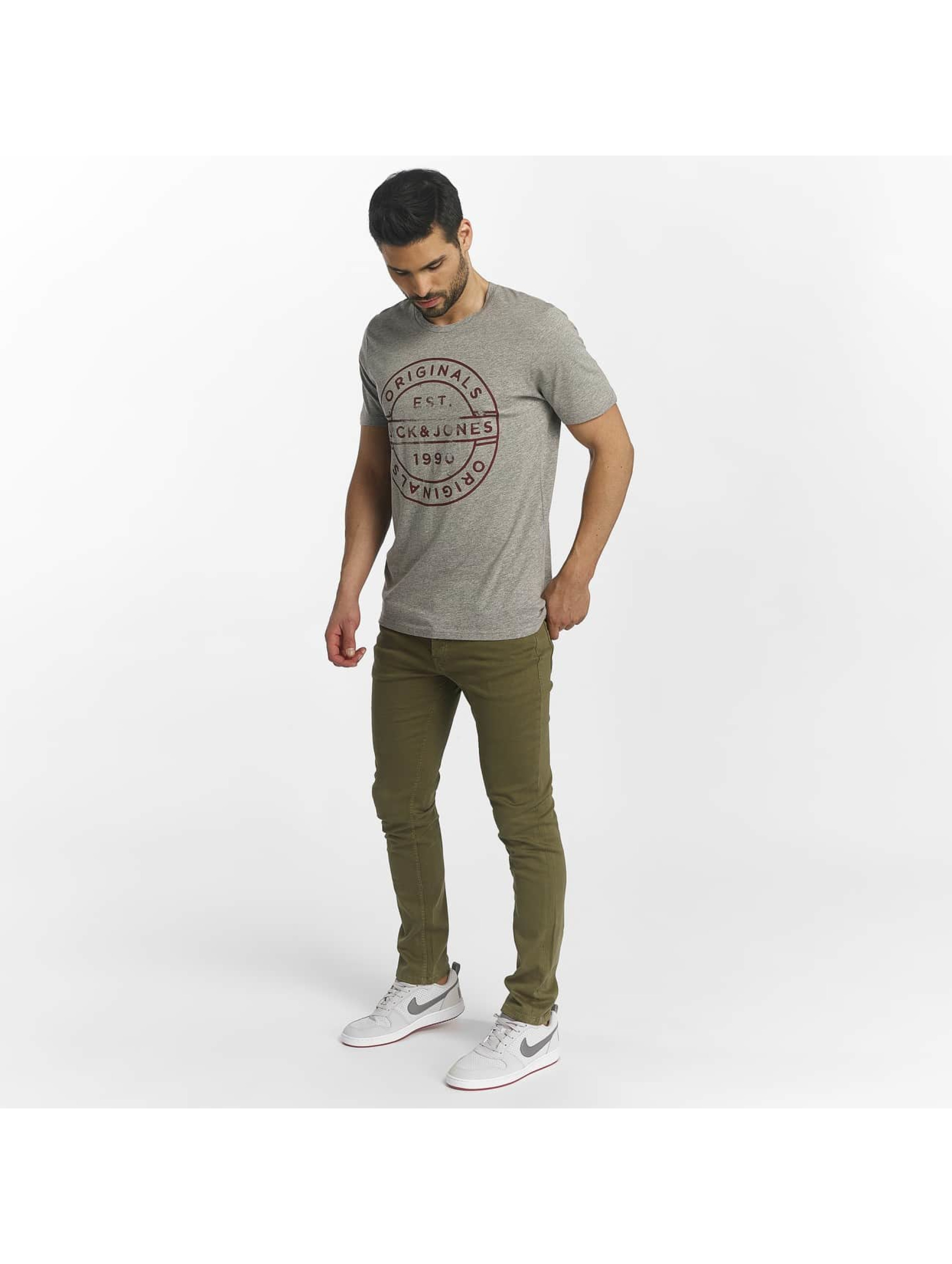 Jack & Jones T-Shirt jorSlack gris