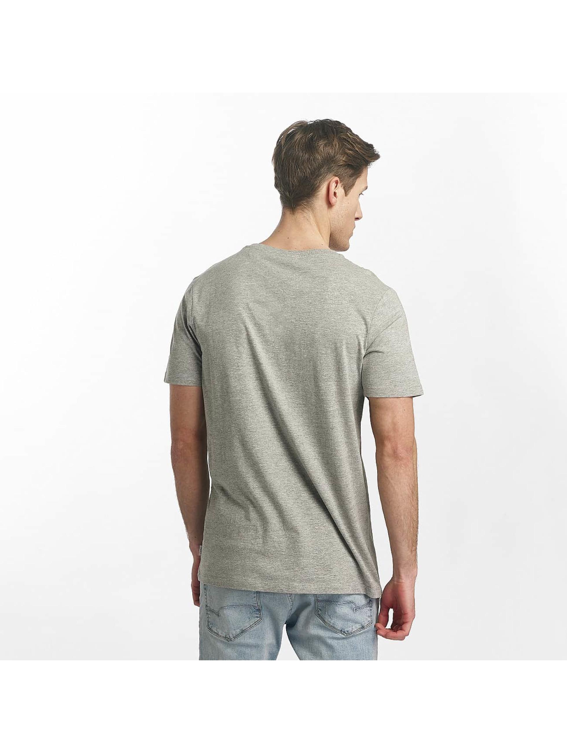 Jack & Jones T-Shirt jcoLine gris