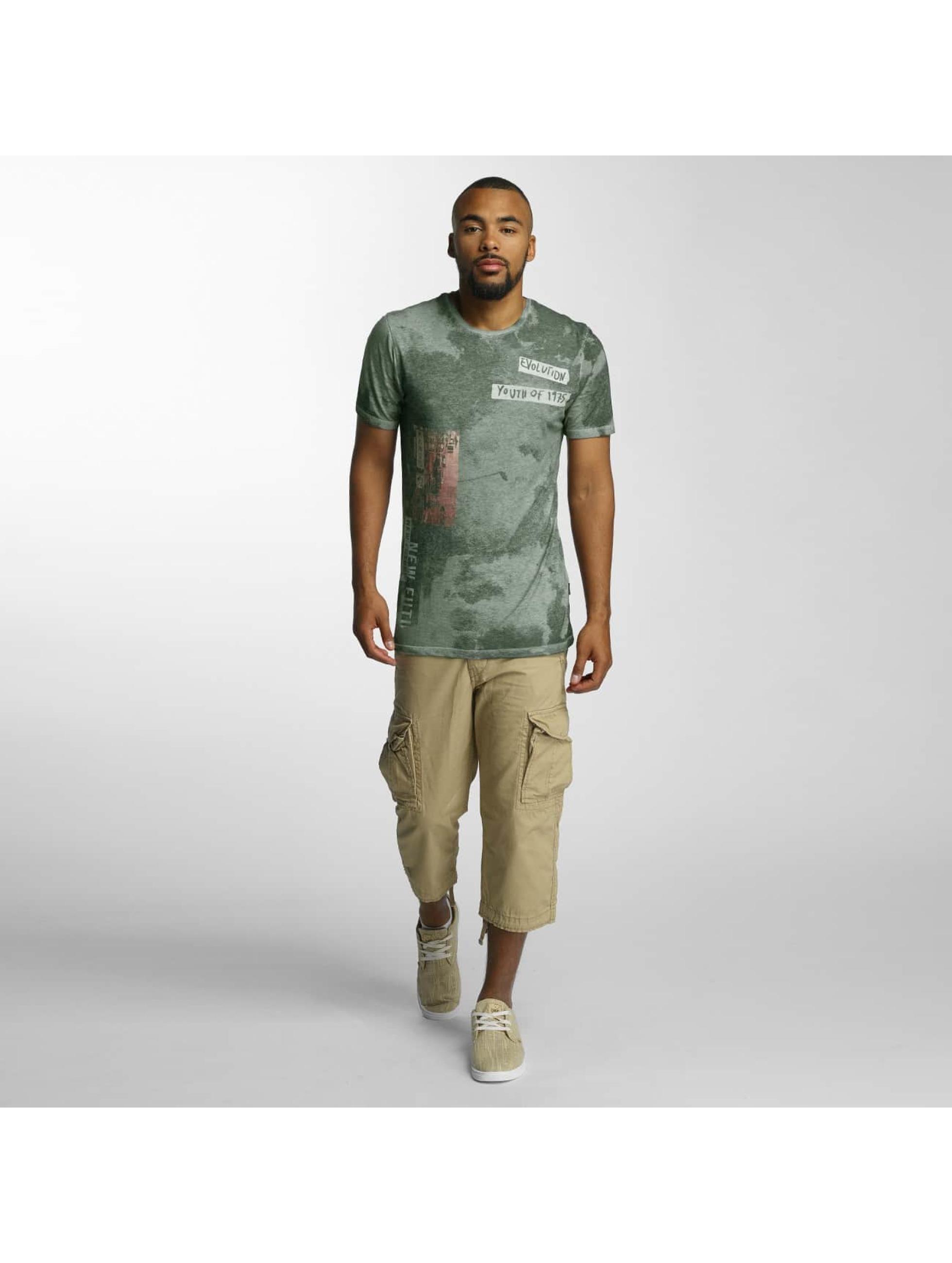Jack & Jones T-Shirt jorPunkbox grün