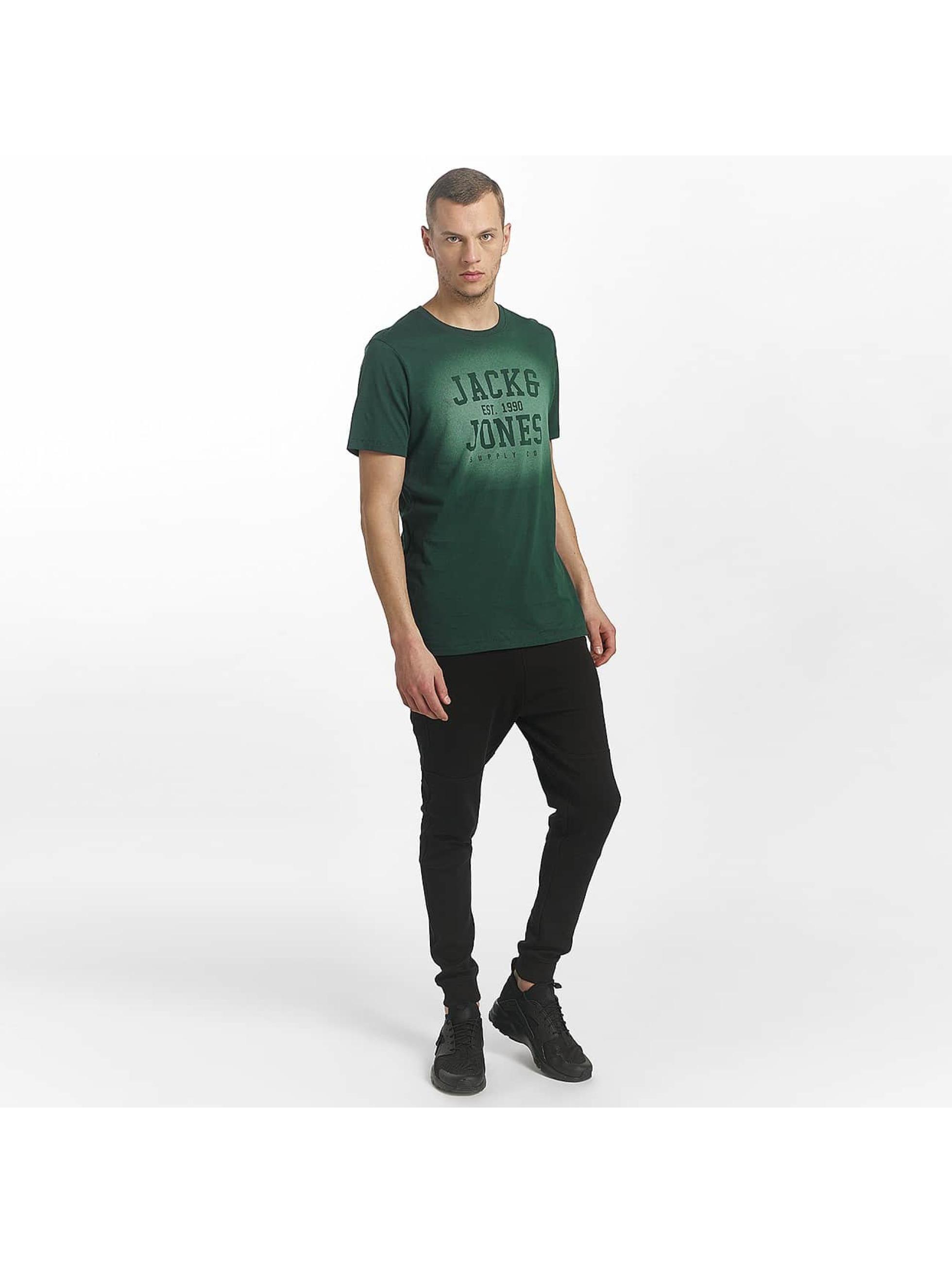 Jack & Jones T-Shirt jorStencild grün